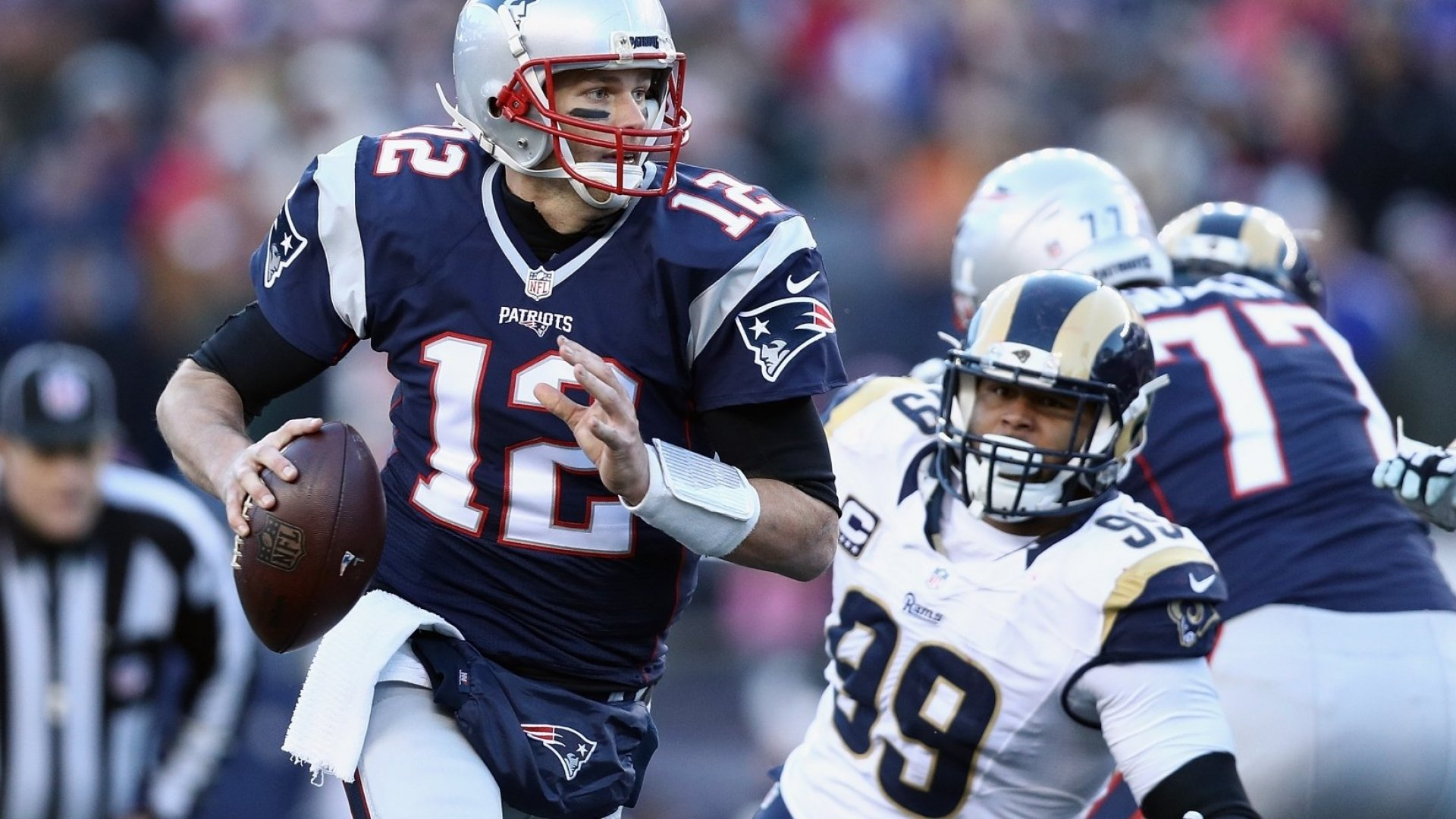 Tom Brady Lost His Temper on the Field. What He Did After the Game Showed True Leadership