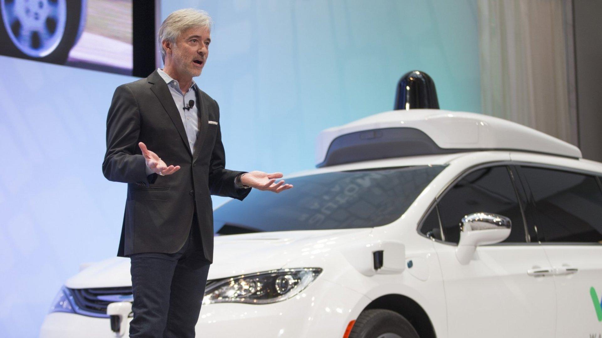 John Krafcik, Waymo CEO.