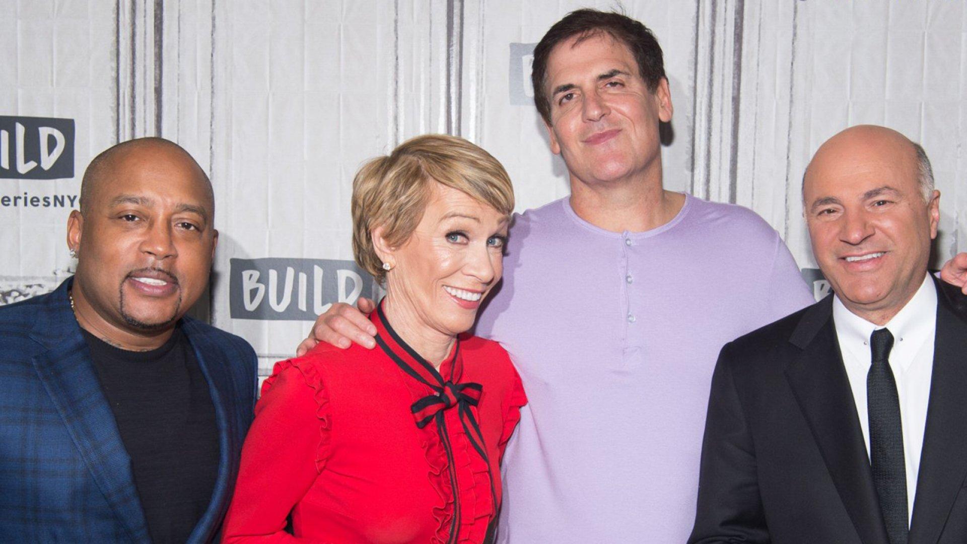 'Shark Tank' investors Daymond John, Barbara Corcoran, Mark Cuban and Kevin O'Leary.