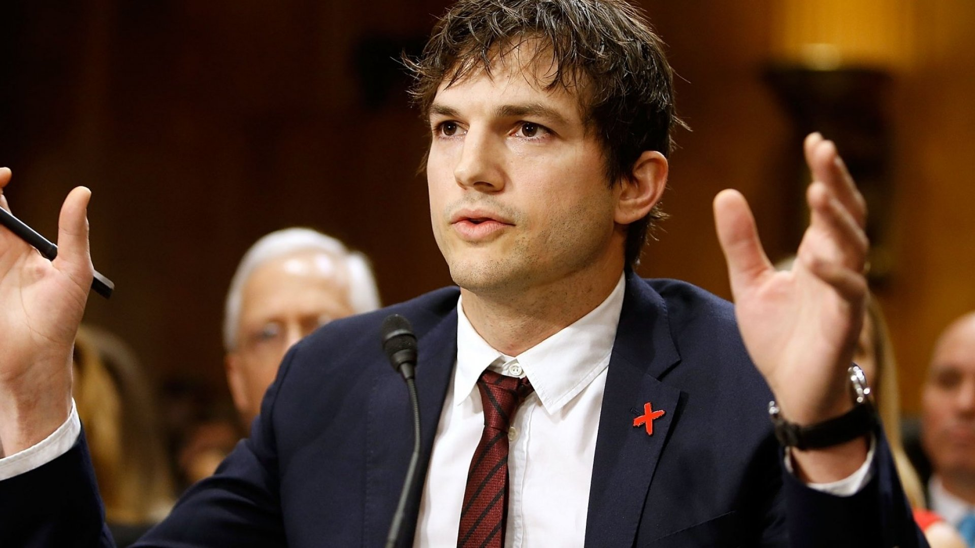 Ashton Kutcher Says He Has Helped Find 6,000 Child Sex Abuse Victims