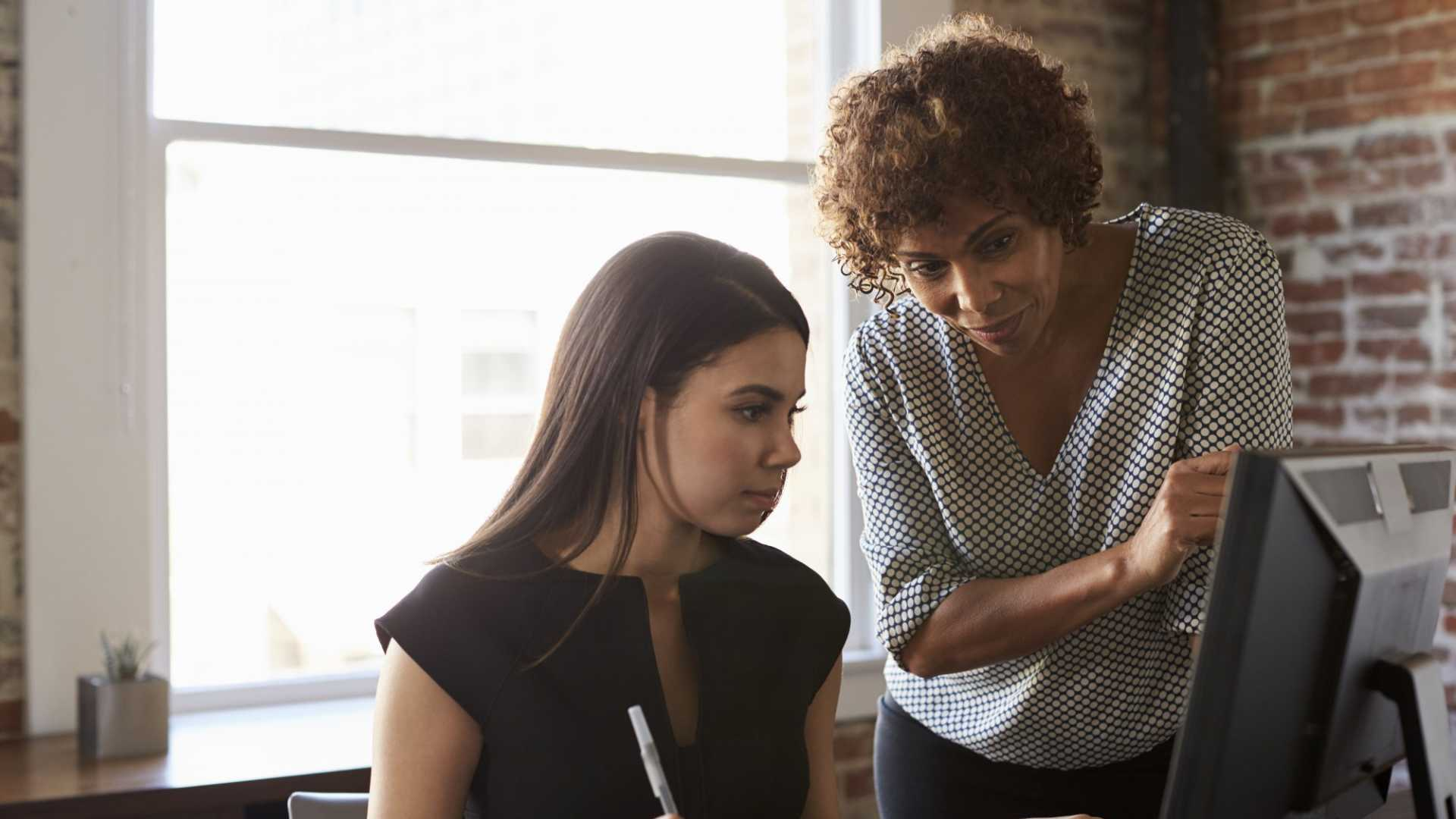There is a need to bring back feminine values of trust, receiving, non-competition, and balance into the workplace.