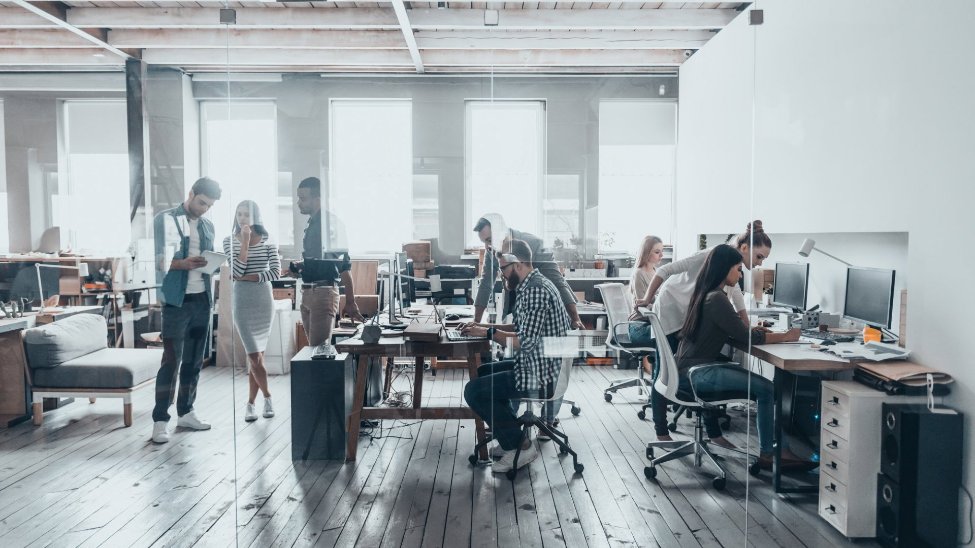 OK, Open-Plan Offices Kill Collaboration, But at Least They Keep You From Sitting All Day