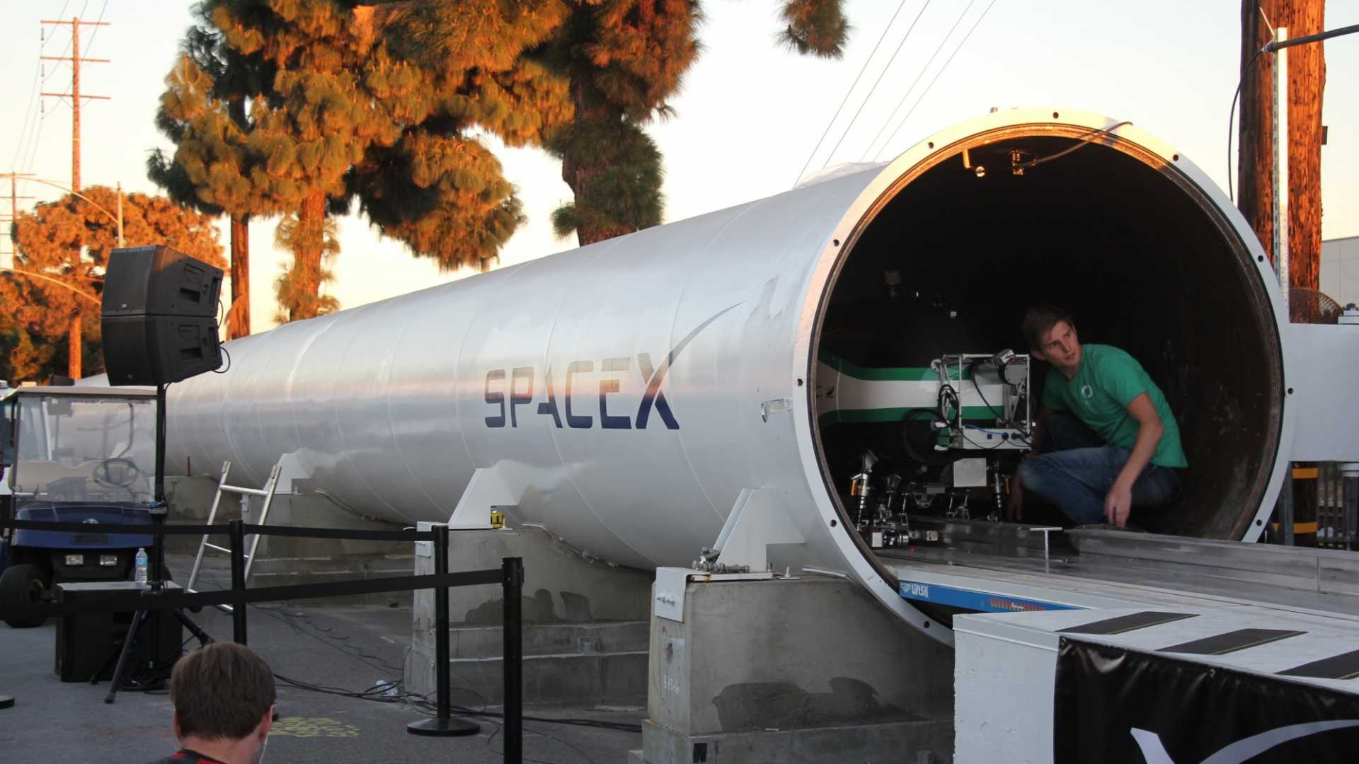 Elon Musk's Hyperloop Hit a New Top Speed of288 MPH. But the Best Is Yet to Come