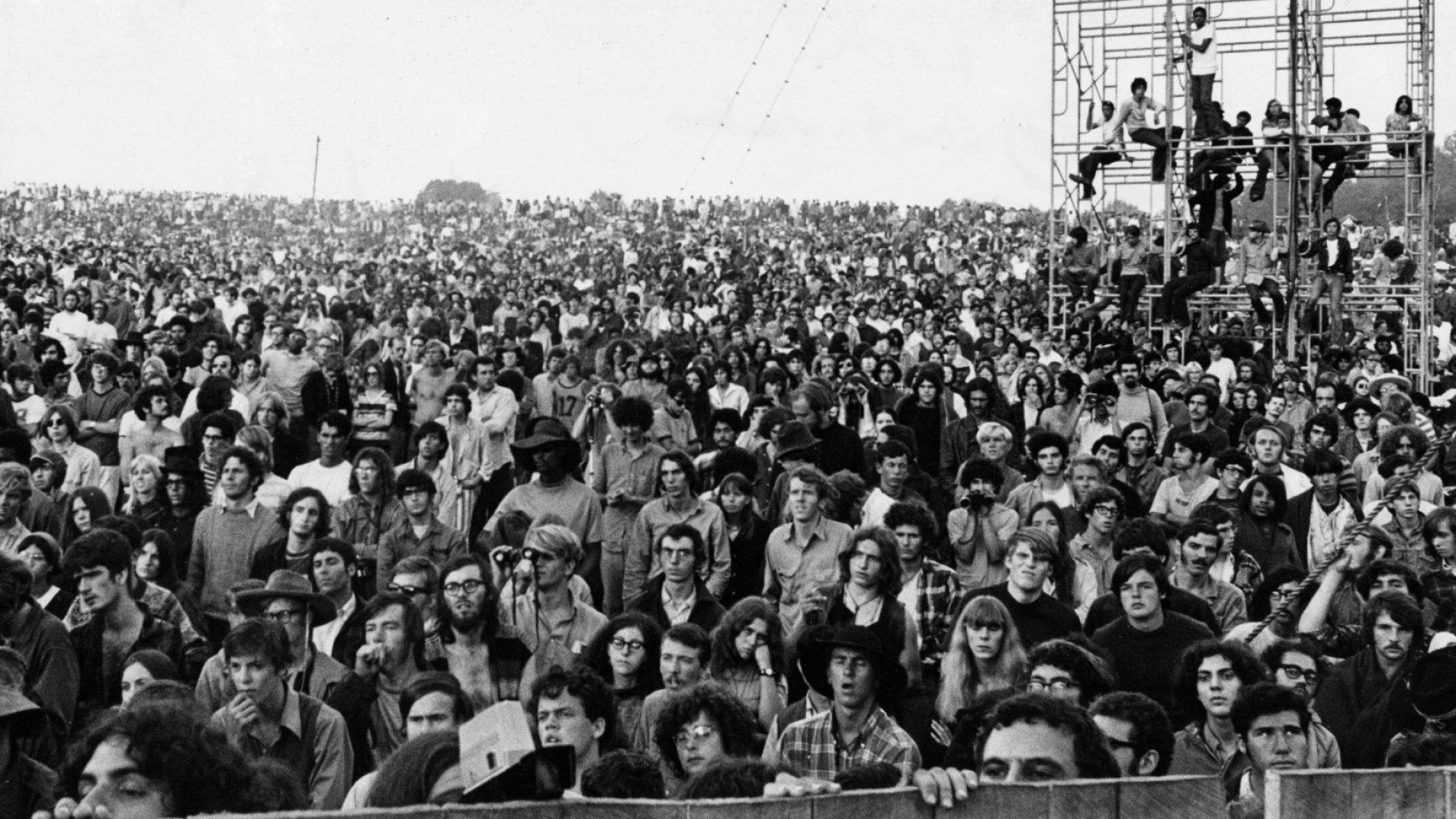 Yasgur's farm, August 17 1969