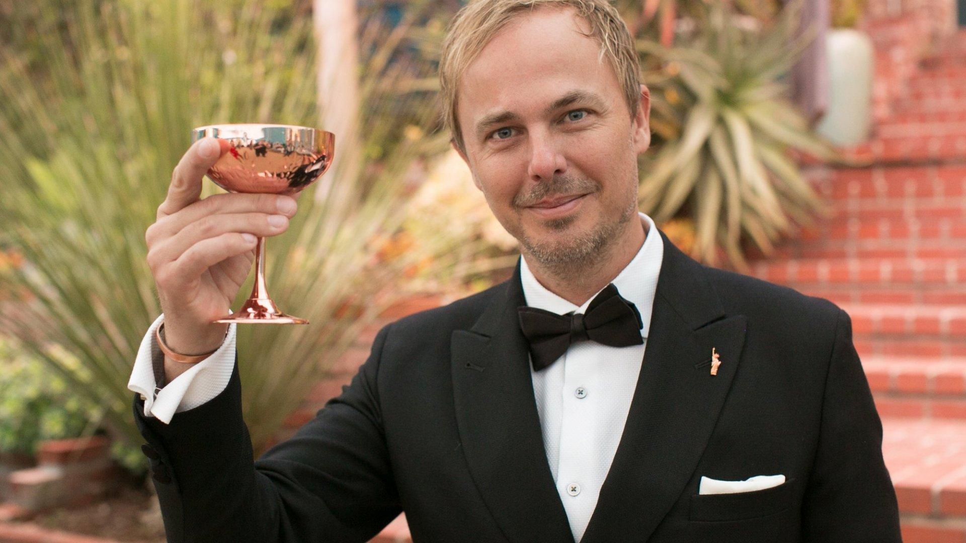 Jonas Tahlin, CEO Absolut Elyx (Photo by Gabriel Olsen/WireImage)