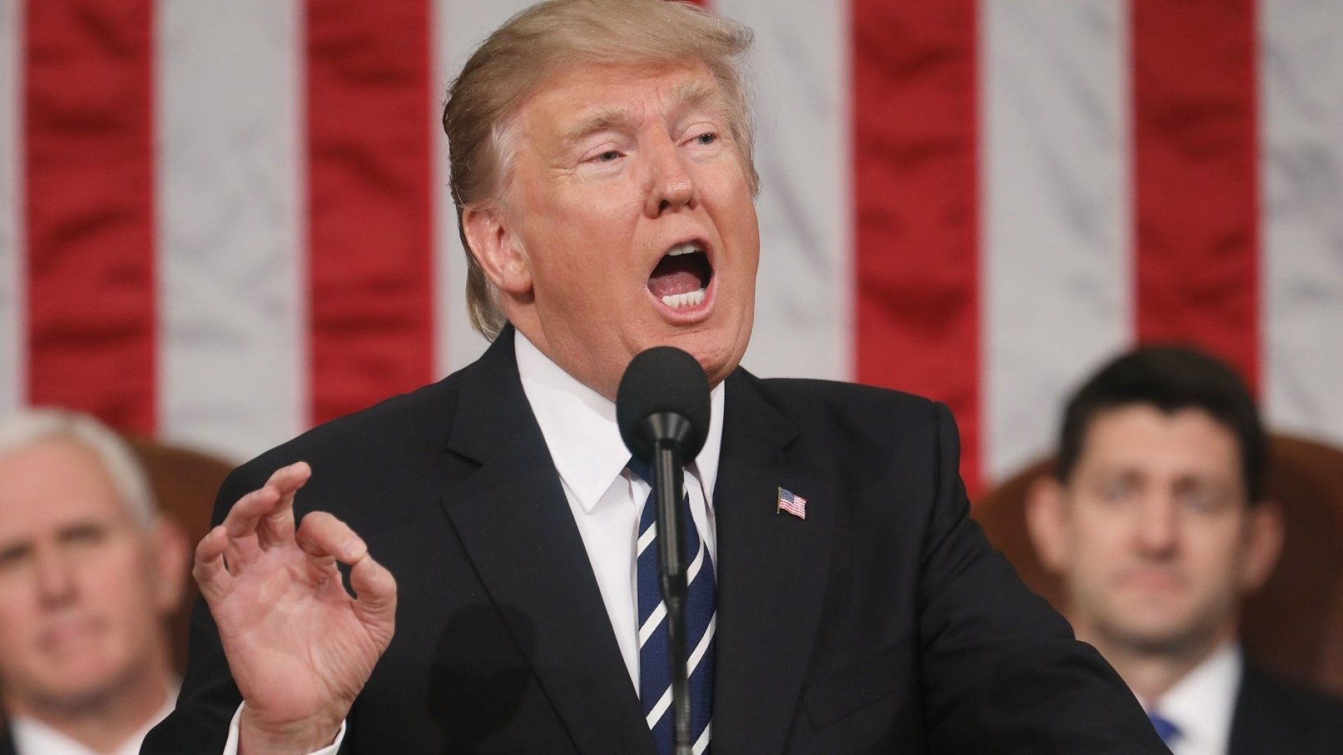 Entrepreneurs Get Little Notice in Trump Address