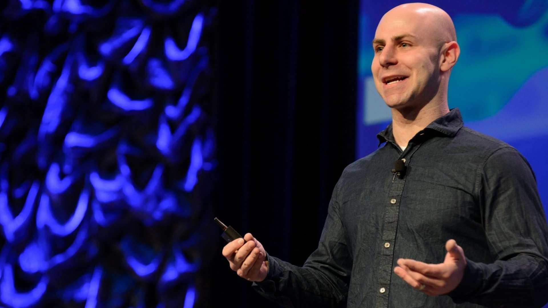 Adam Grant delivers the Interactive Keynote during the SxSW Conference in Austin, Texas. (Photo by Jim Bennett/Getty Images)