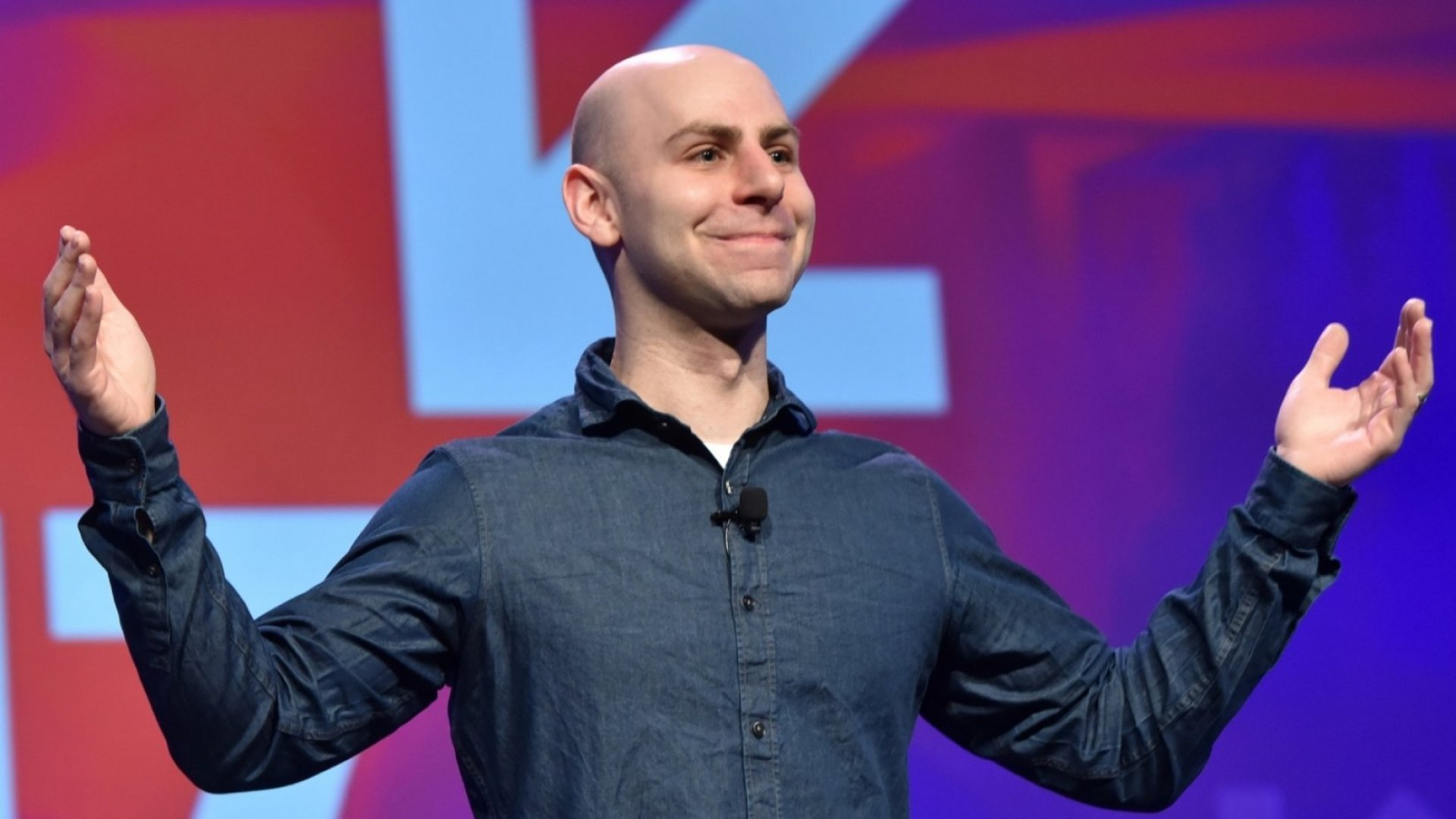 Author and professor Adam Grant speaks onstage at the Interactive Keynote during 2017 SXSW Conference and Festivals in Austin. (Photo by Amy E. Price/Getty Images for SXSW)