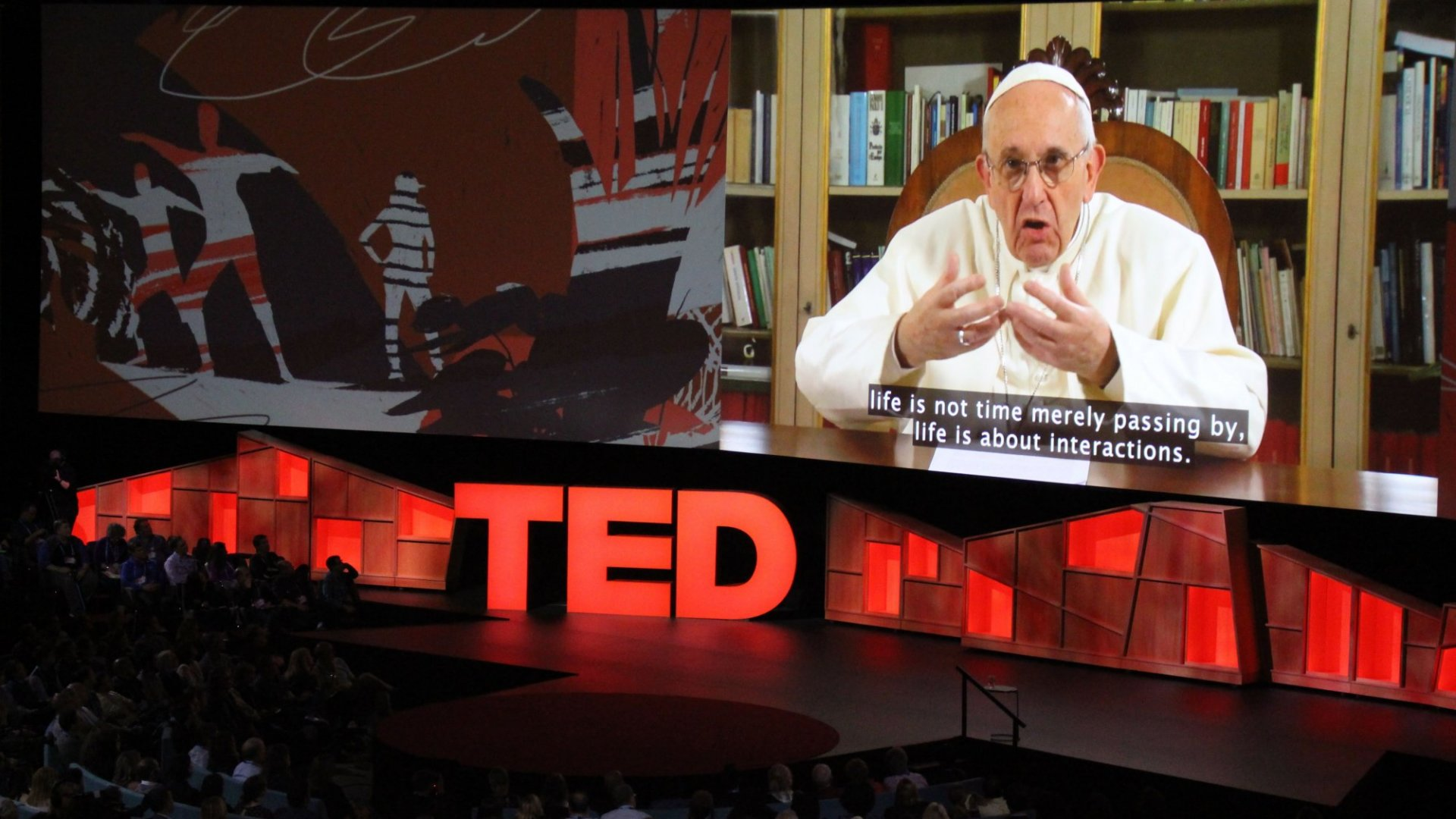 The Pope Just Gave a Surprise TED Talk, Nailing the Secret to Remarkable Leadership