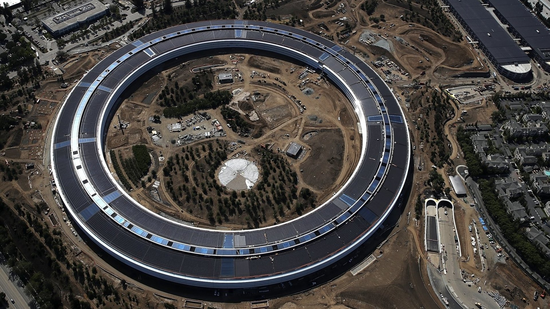 Meet Apple's New Steve Jobs Theater and $5 Billion 'Spaceship'