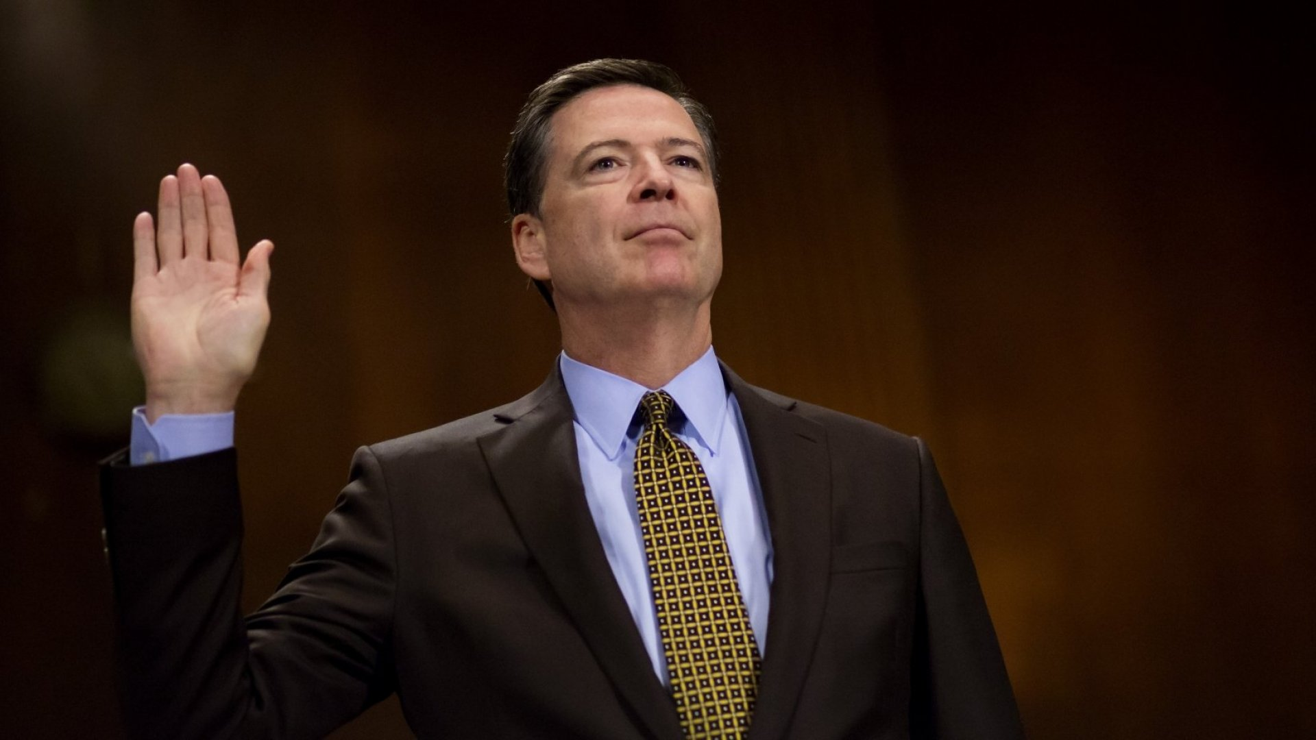 James Comey, former director of the Federal Bureau of Investigation, testifies before the Senate Judiciary Committee during an oversight hearing on the FBI on Capitol Hill on May 3, 2017.