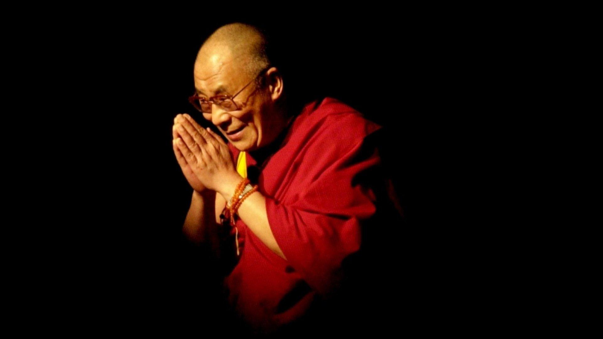 Nobel Laureate and exiled spiritual leader of Tibet, His Holiness the 14th Dalai Lama