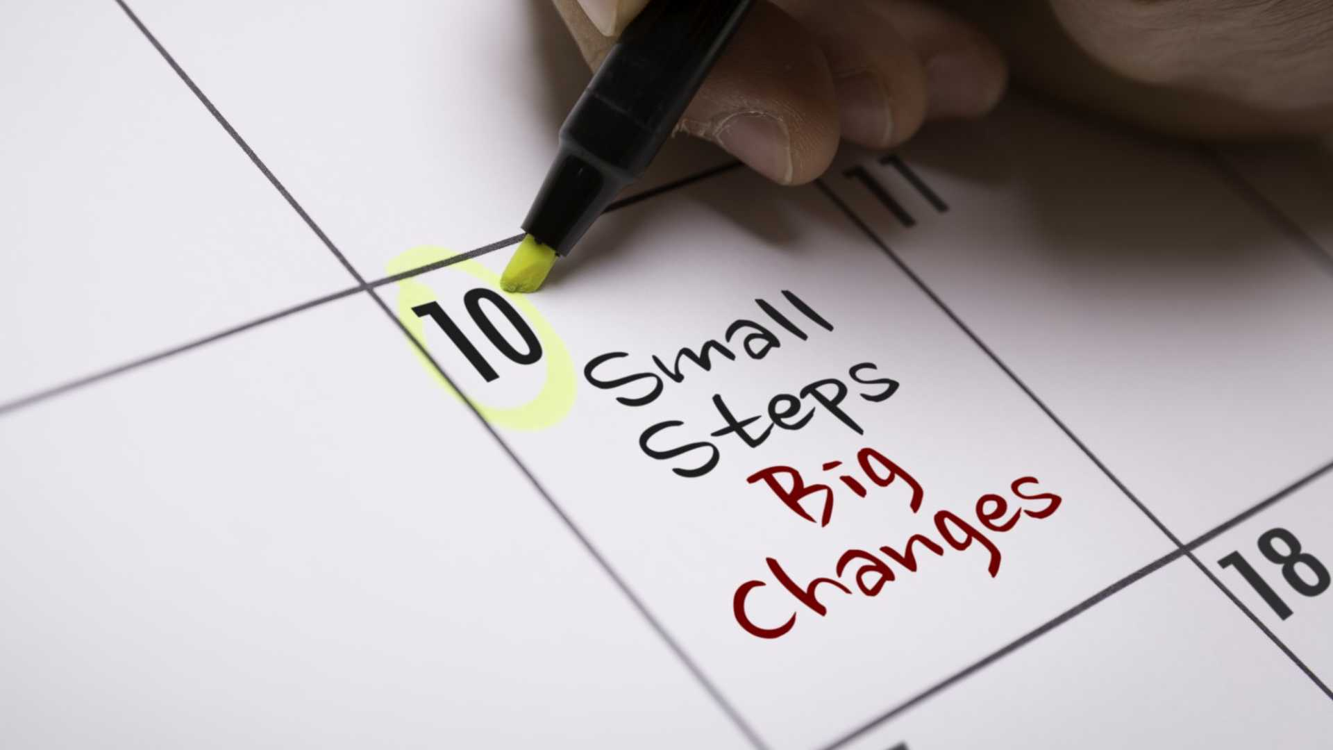 Beat Procrastination by Starting Small