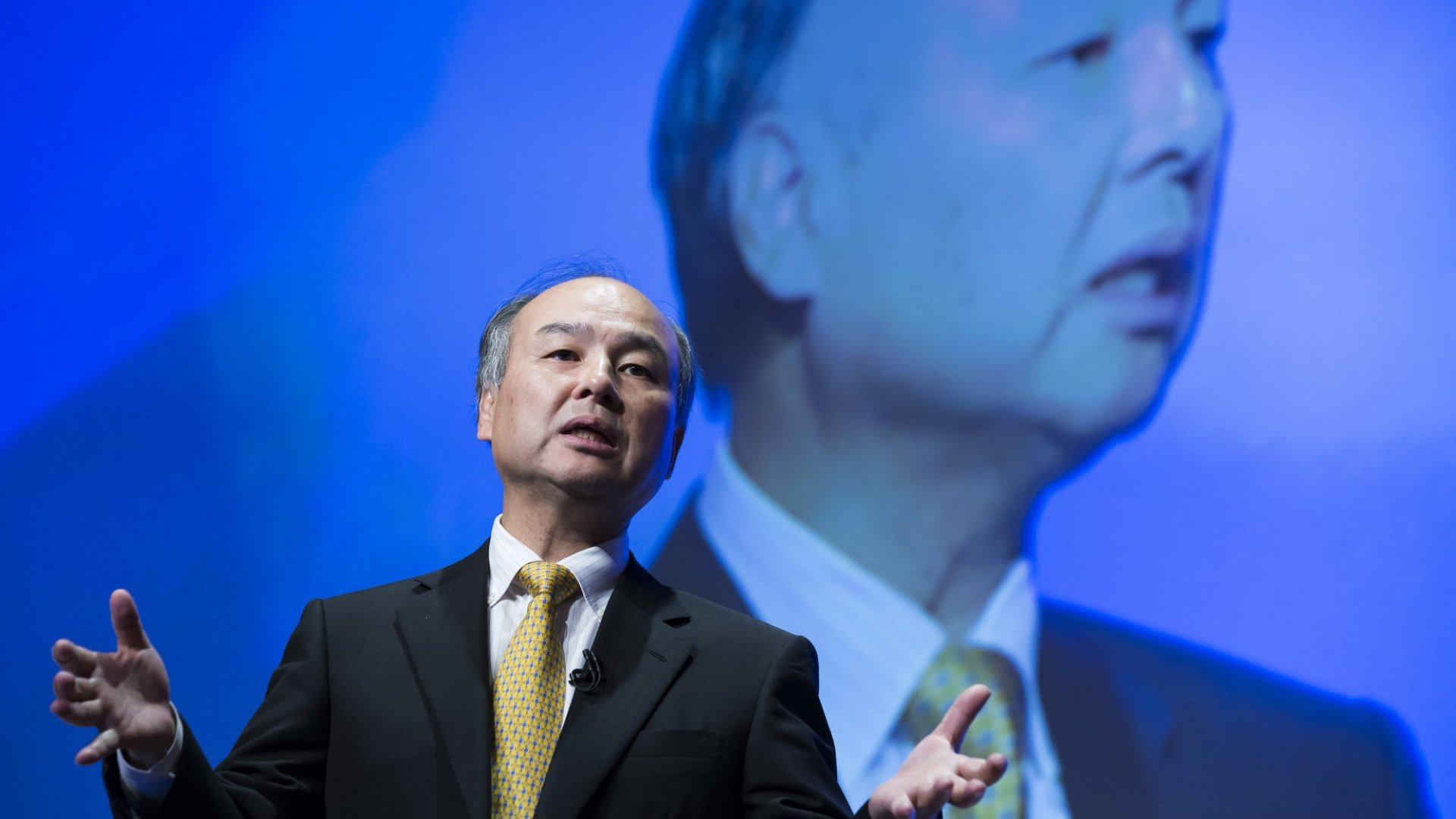 Masayoshi Son, SoftBank's chairman and CEO.