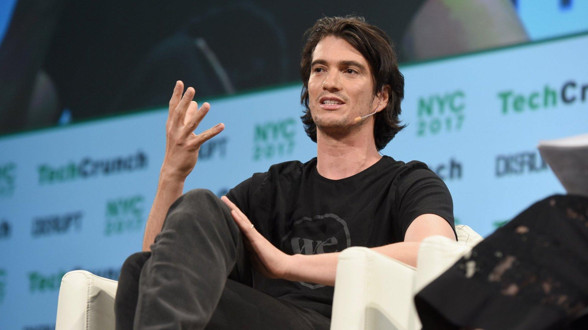 CEO Adam Neumann Steps Down From WeWork