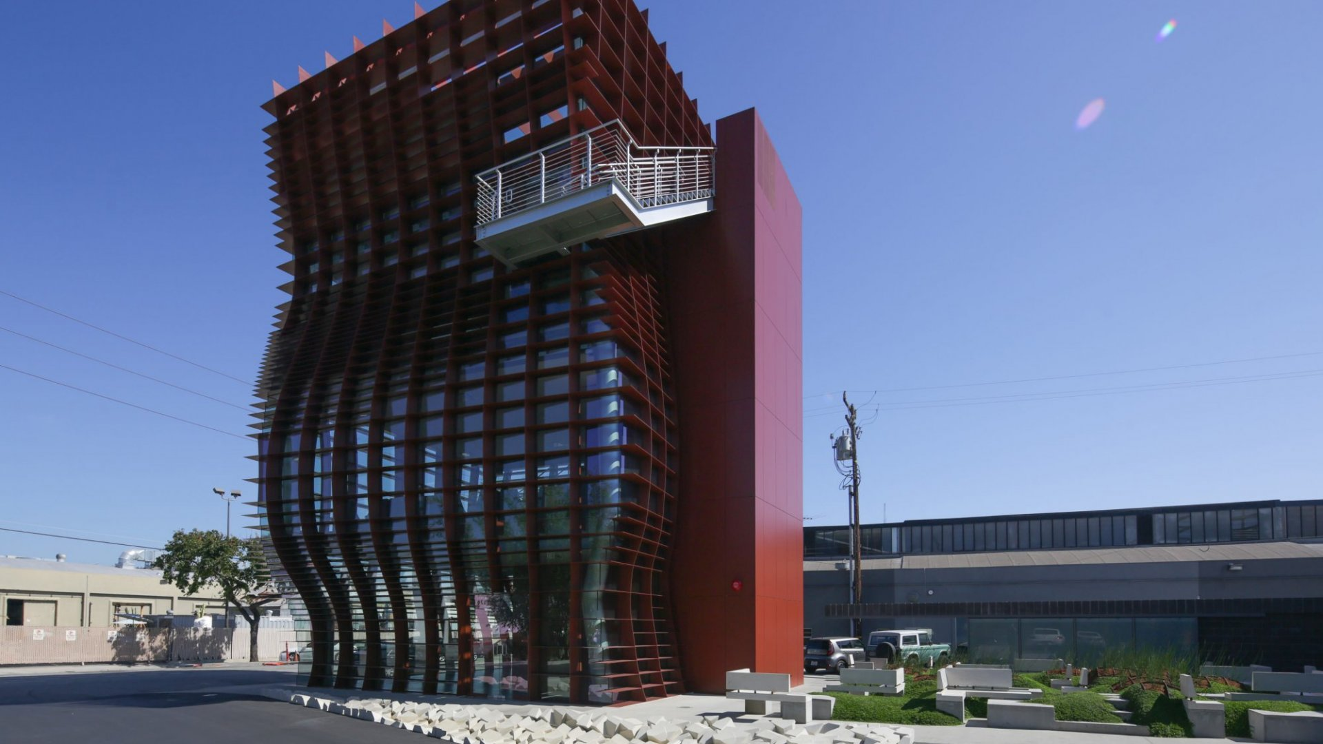 <b>Vespertine in Culver City, California.</b>