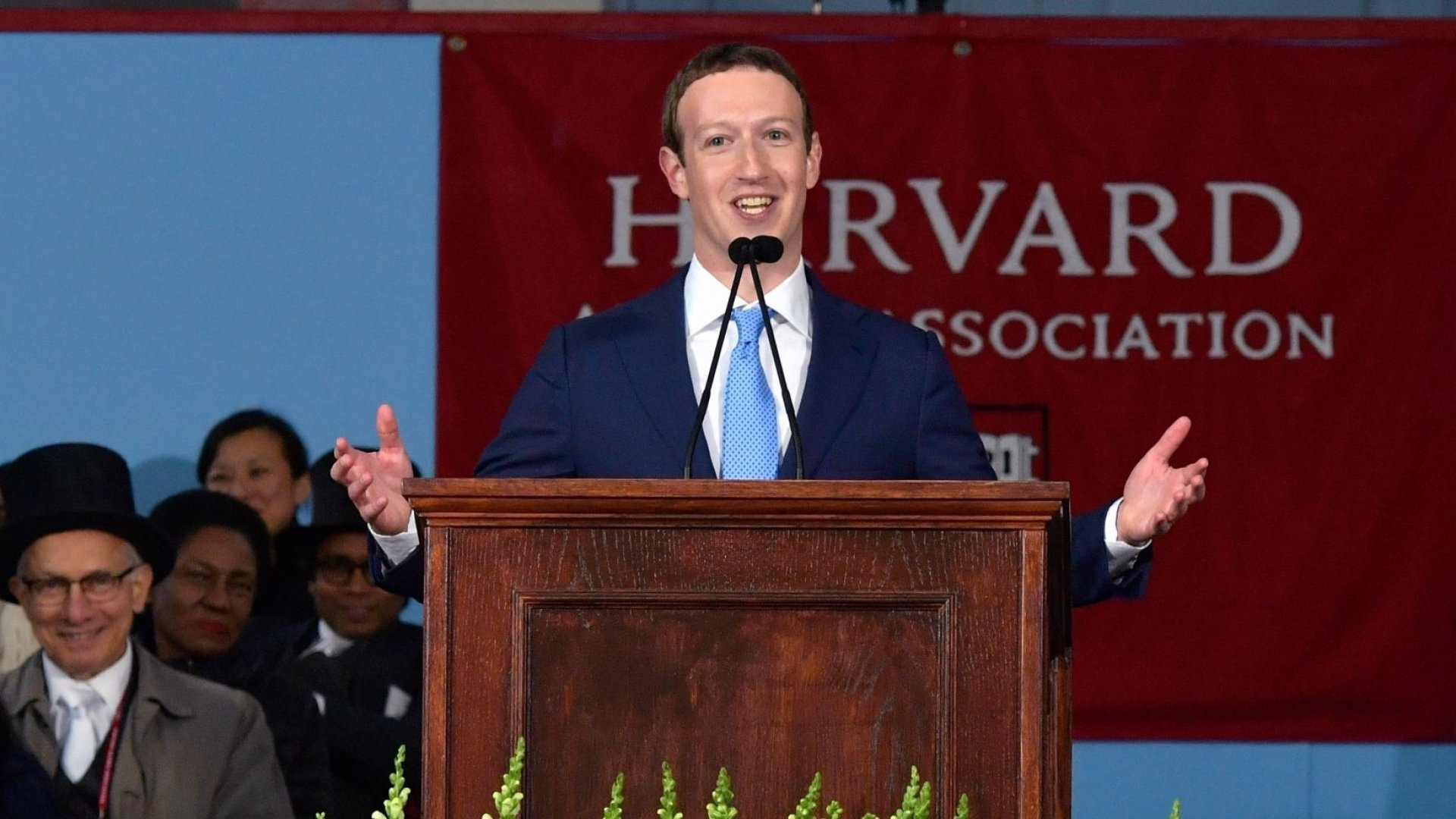Mark Zuckerberg Delivers His Secret for Happiness at the Harvard Commencement