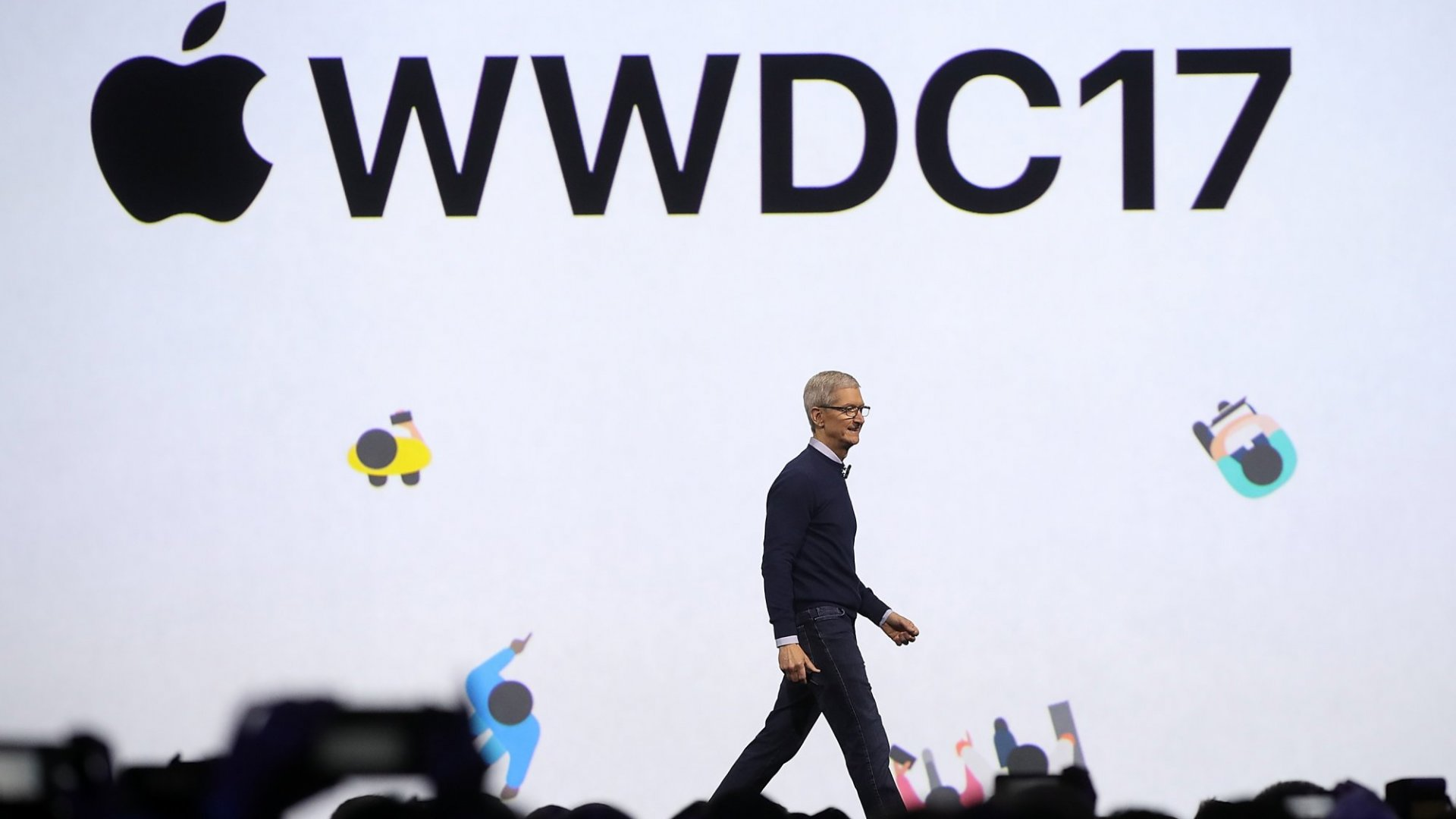 Tim Cook Credits Apple's Success to Two Basic Principles