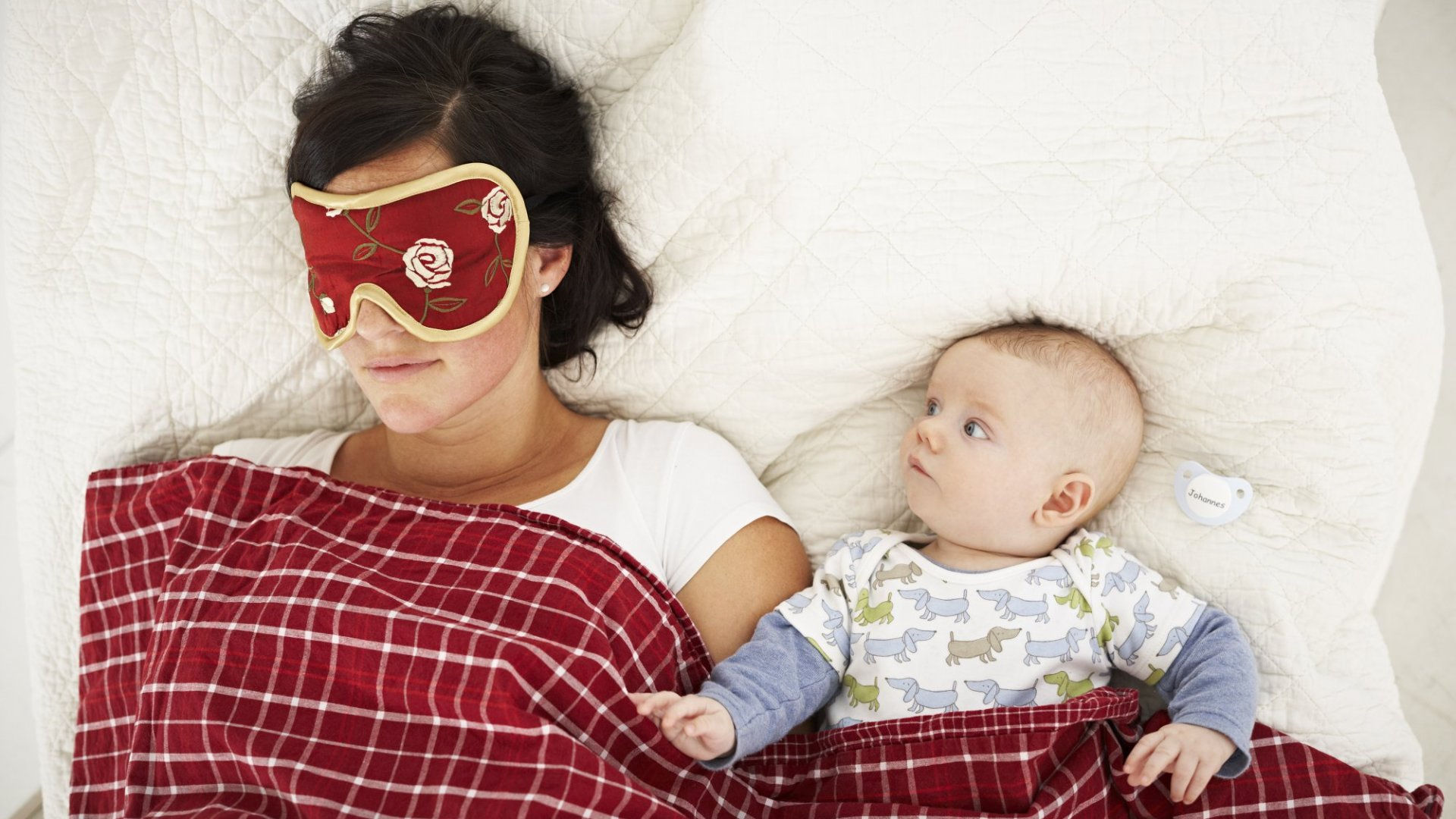 How Not to Lose Your Mind and Stay Productive When Your Baby Won't Sleep