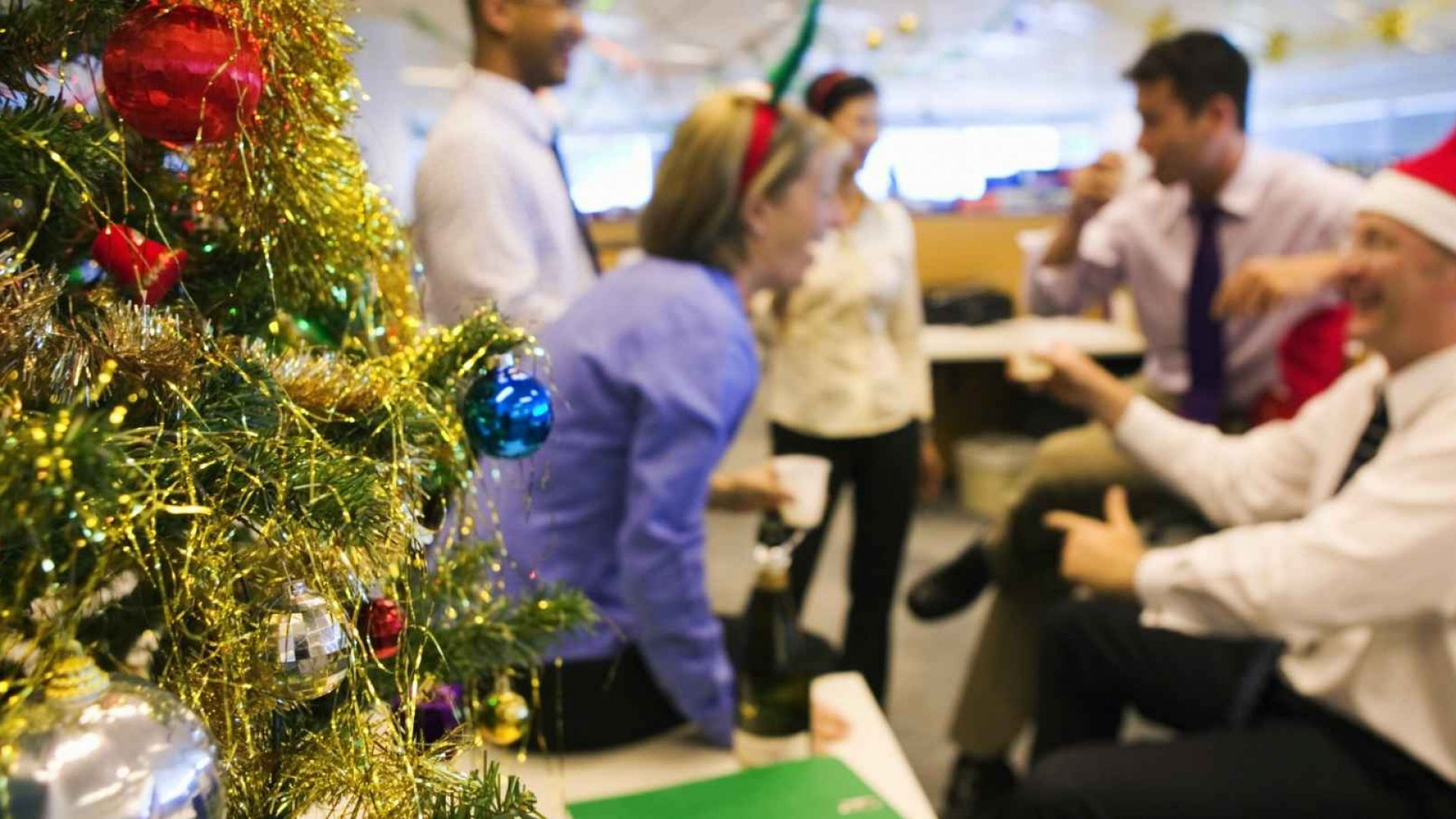 Having fun in the office during and after the holidays