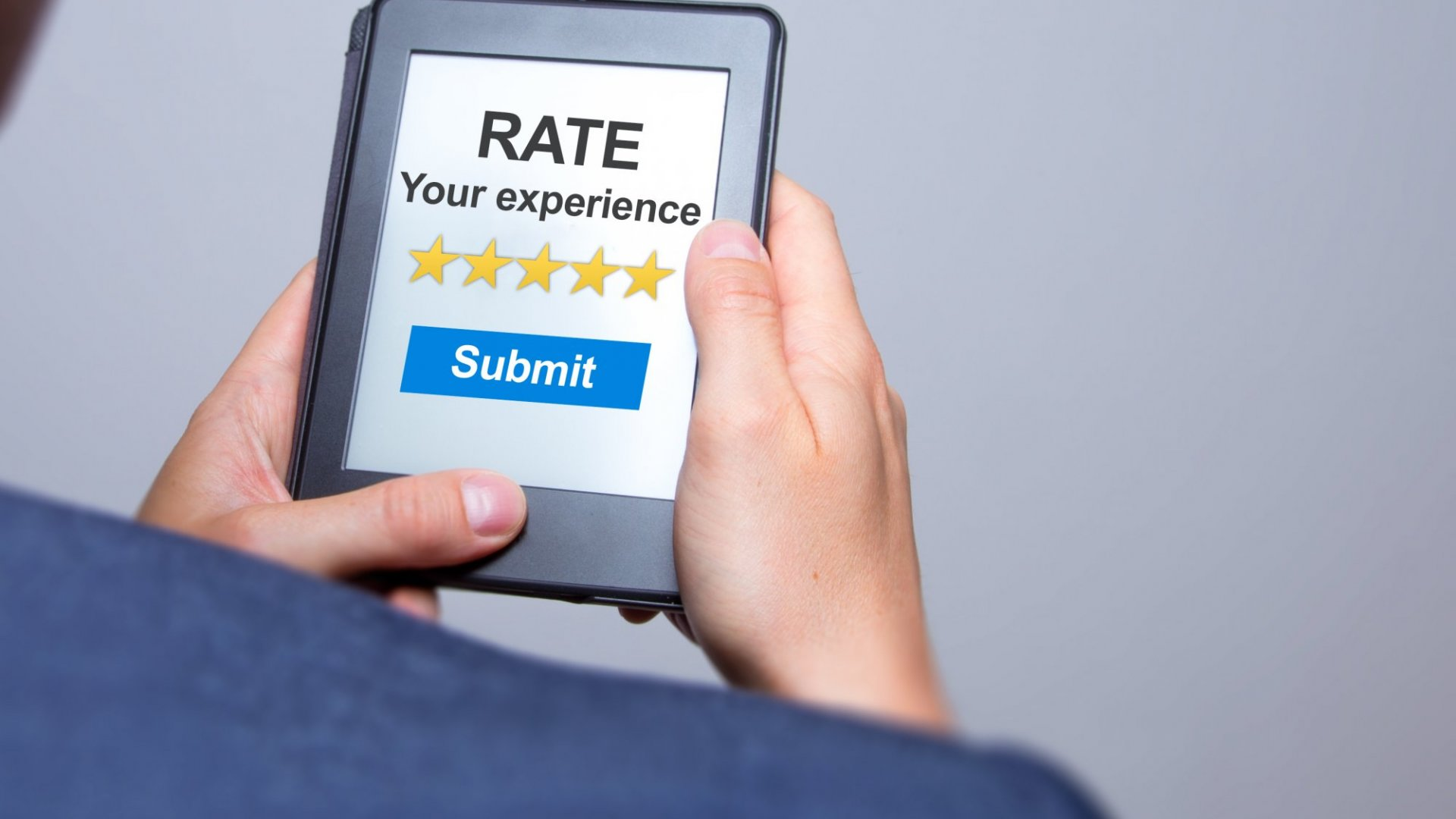 Would you treat your customers differently if every one of them was rating you after the experience?