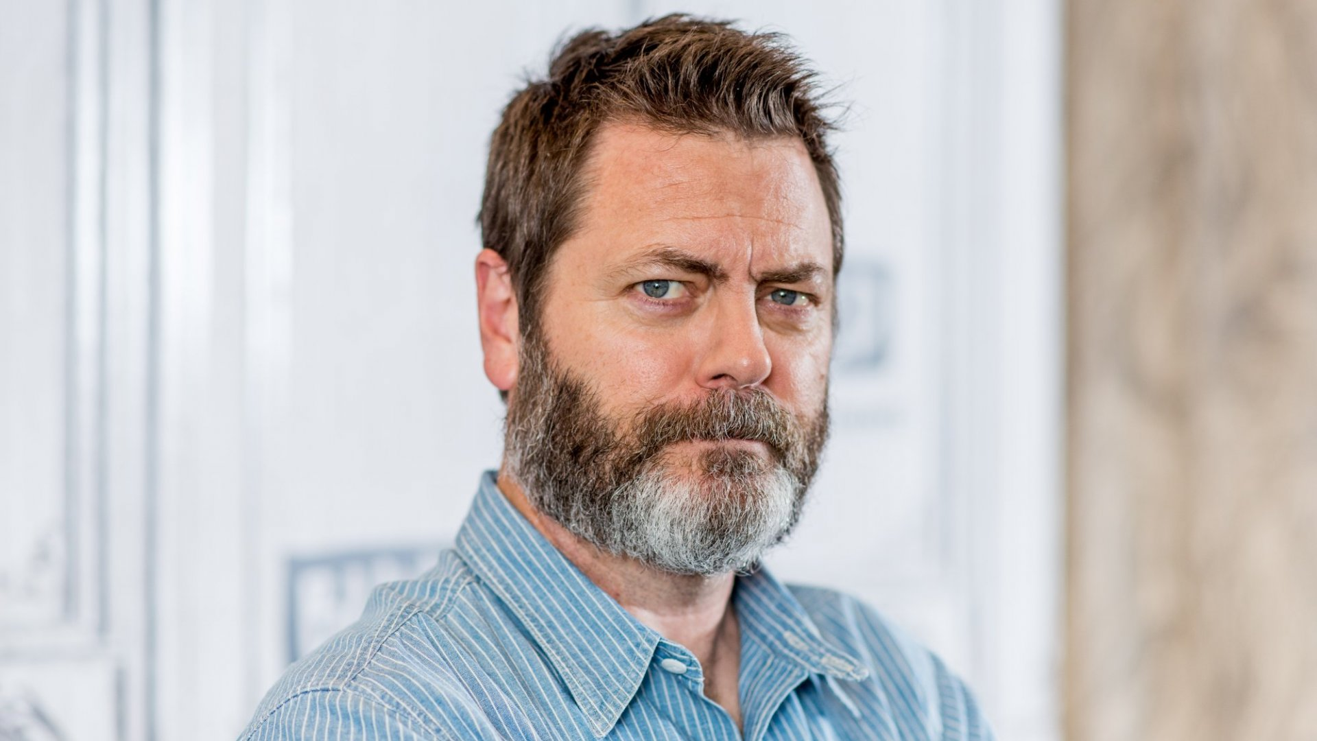 The Most Important Business Lesson Nick Offerman Learned From His Wife