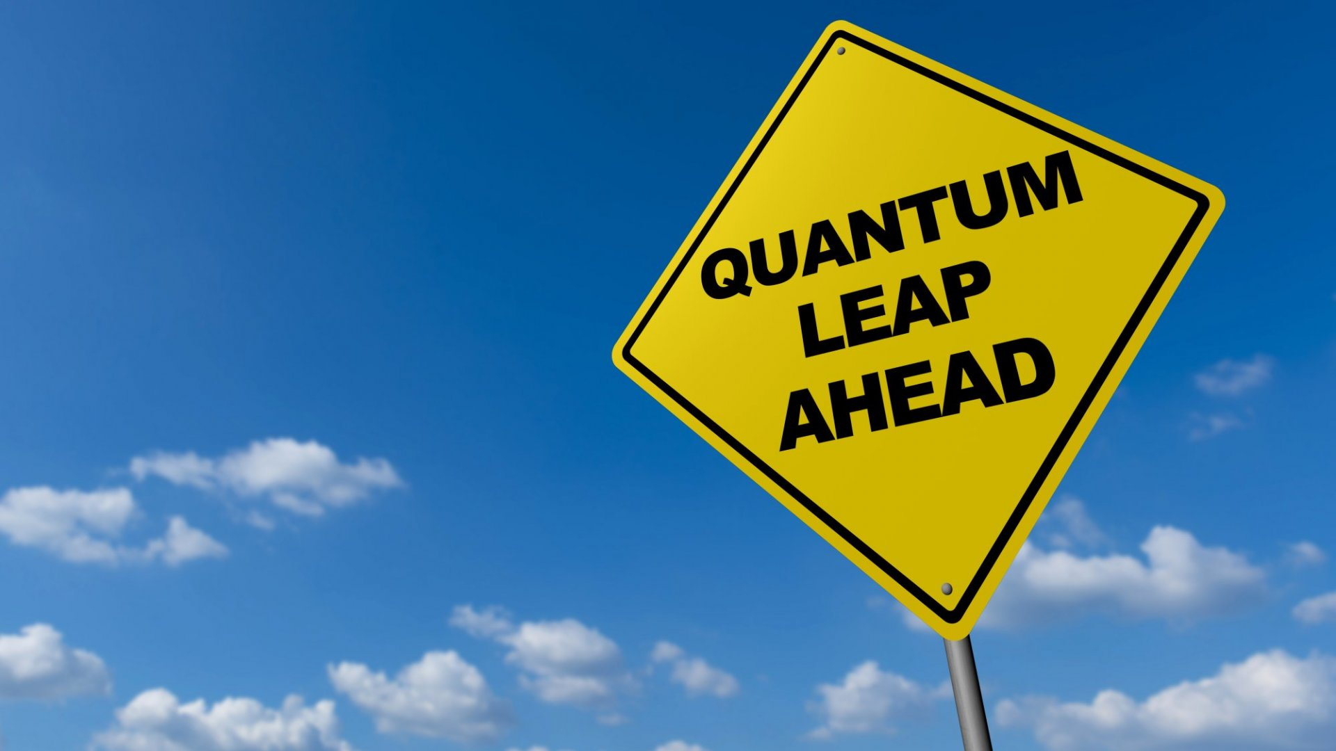 Still Dreaming of That Big Leap Forward? Turns Out That's Your Problem