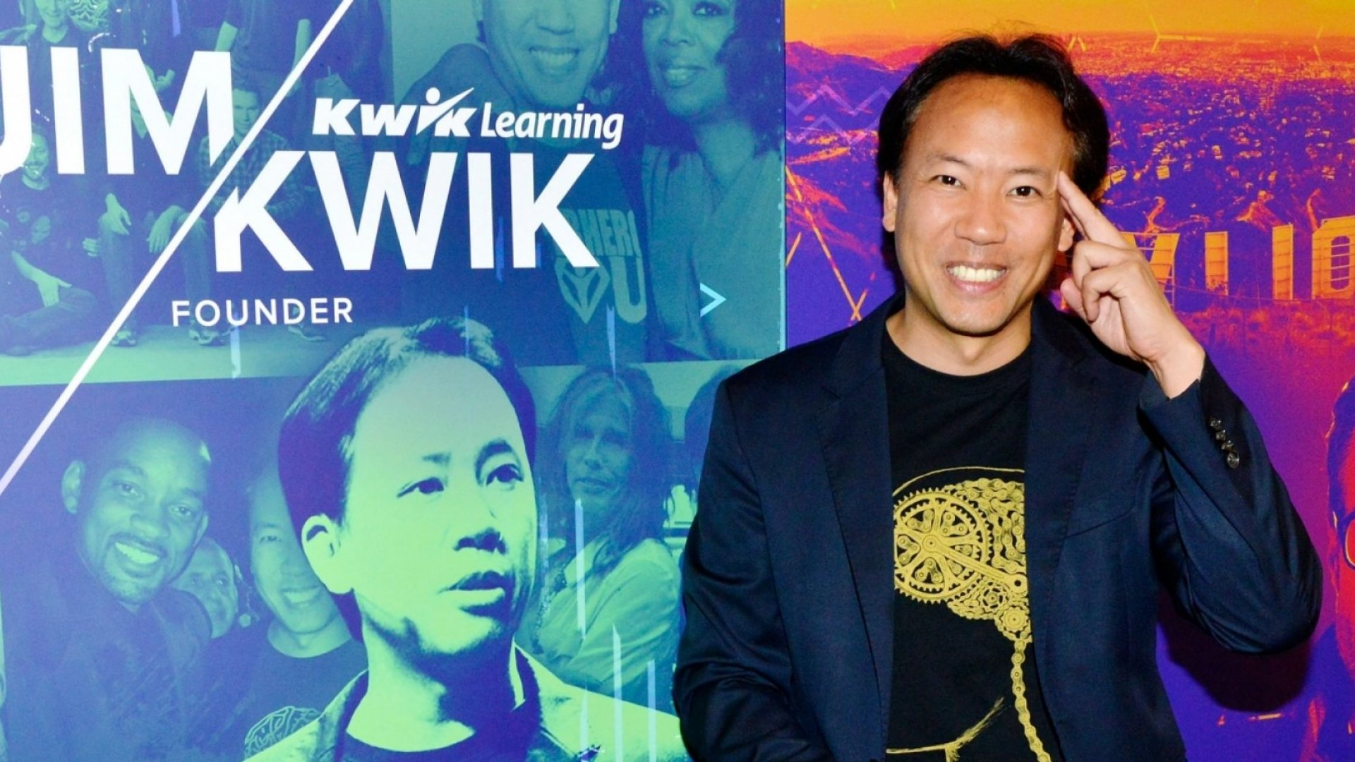 Author and brain expert Jim Kwik