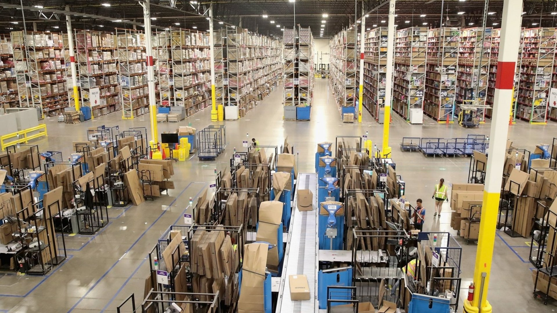 Amazon Is Hiring 100,000 Workers to Handle the Increase in Online Shopping