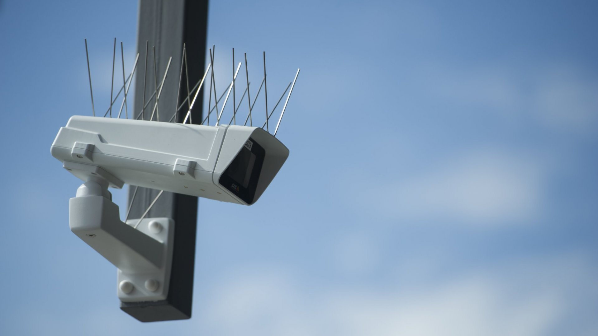 Police used CCTV-type cameras to spot alleged villains.
