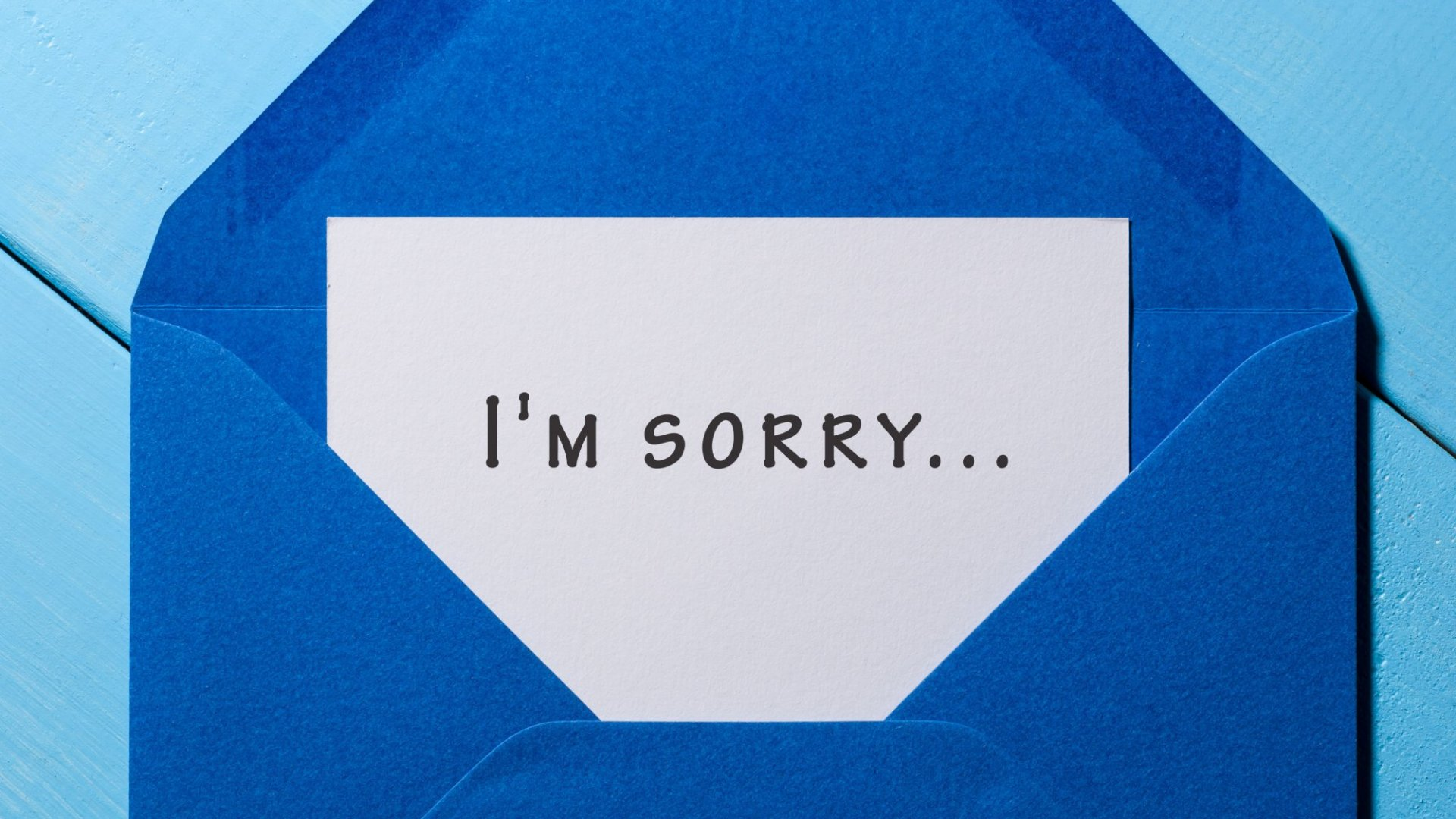 Women Really Do Apologize More Than Men. Here's Why (and It Has Nothing to Do With Men Refusing to Admit Wrongdoing)