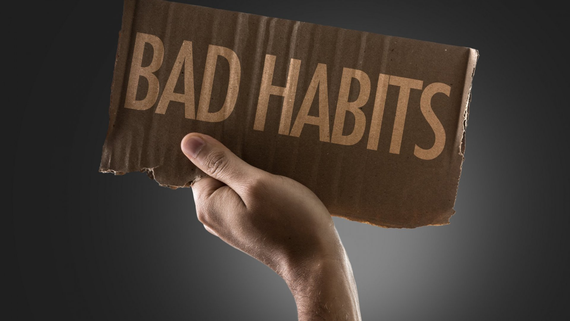 We all have bad habits, but is it time for you to put an end to some of them?