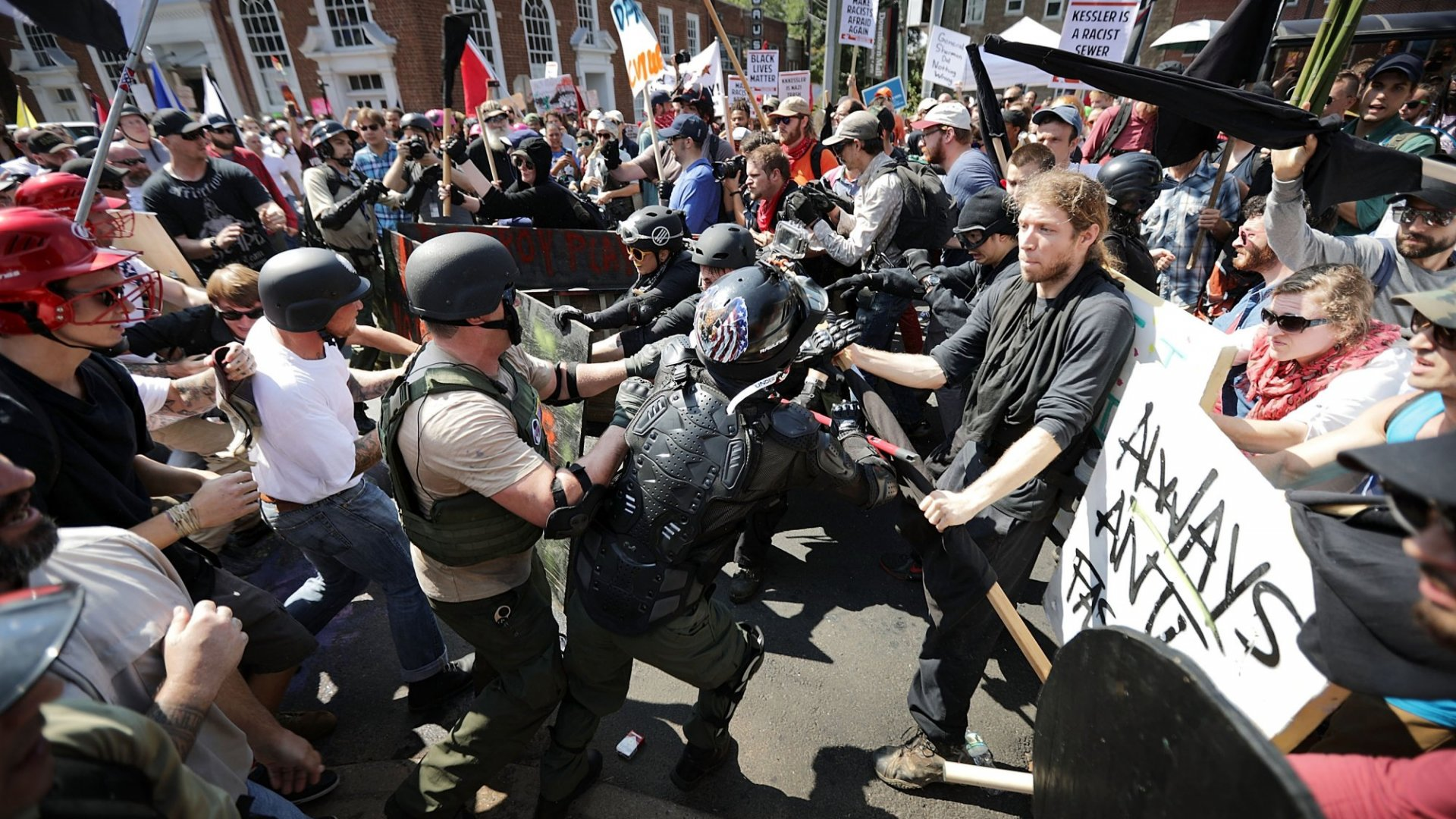 Should You Fire the Charlottesville Protesters?
