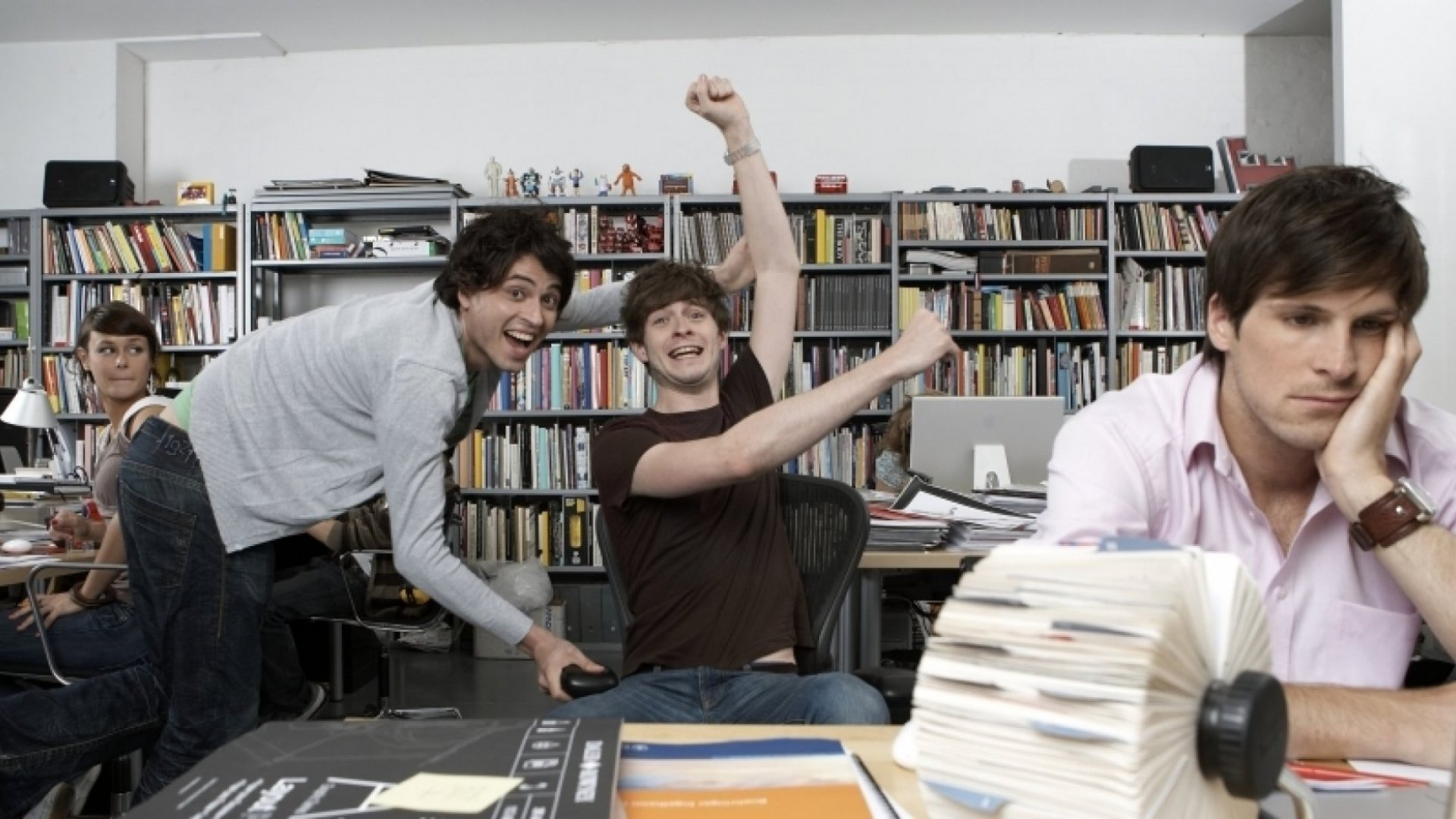 76 Percent of Employees Are More Productive When They Leave the Office