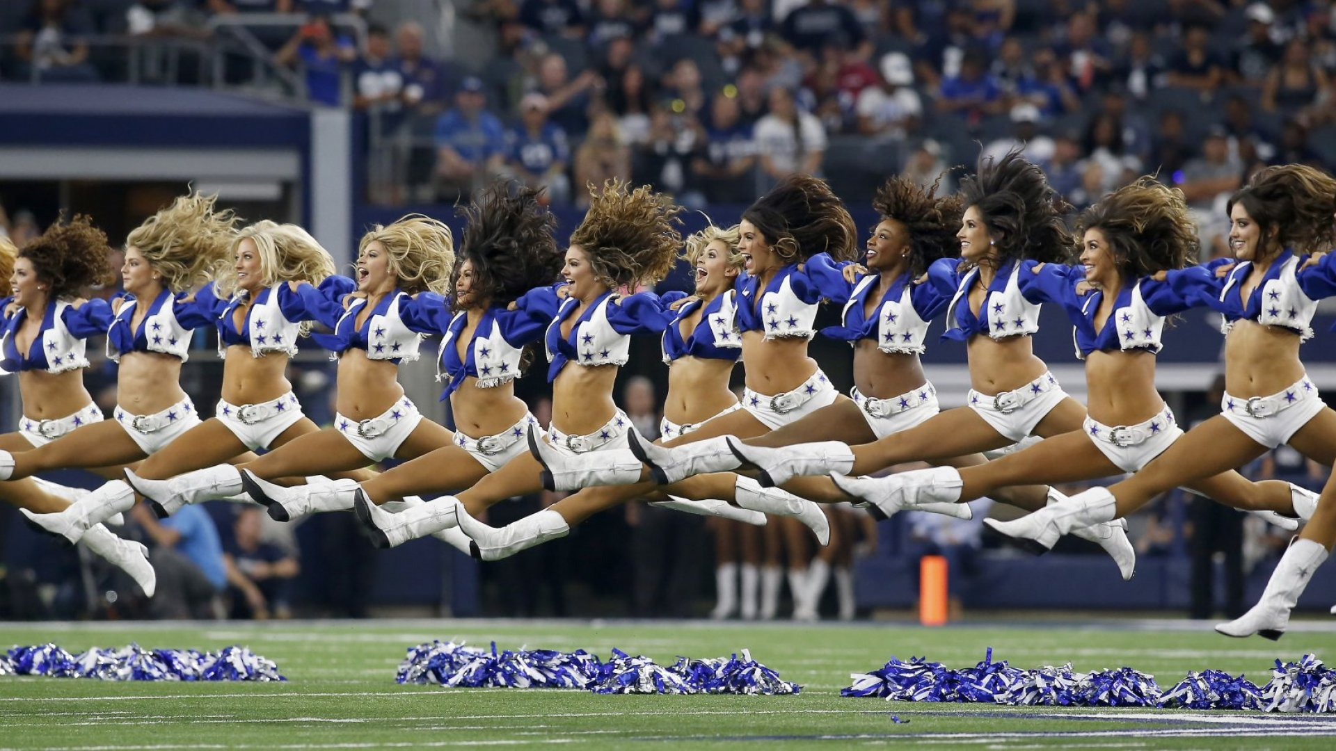 NFL Cheerleader: A Job Where You're Told How to Use a Tampon
