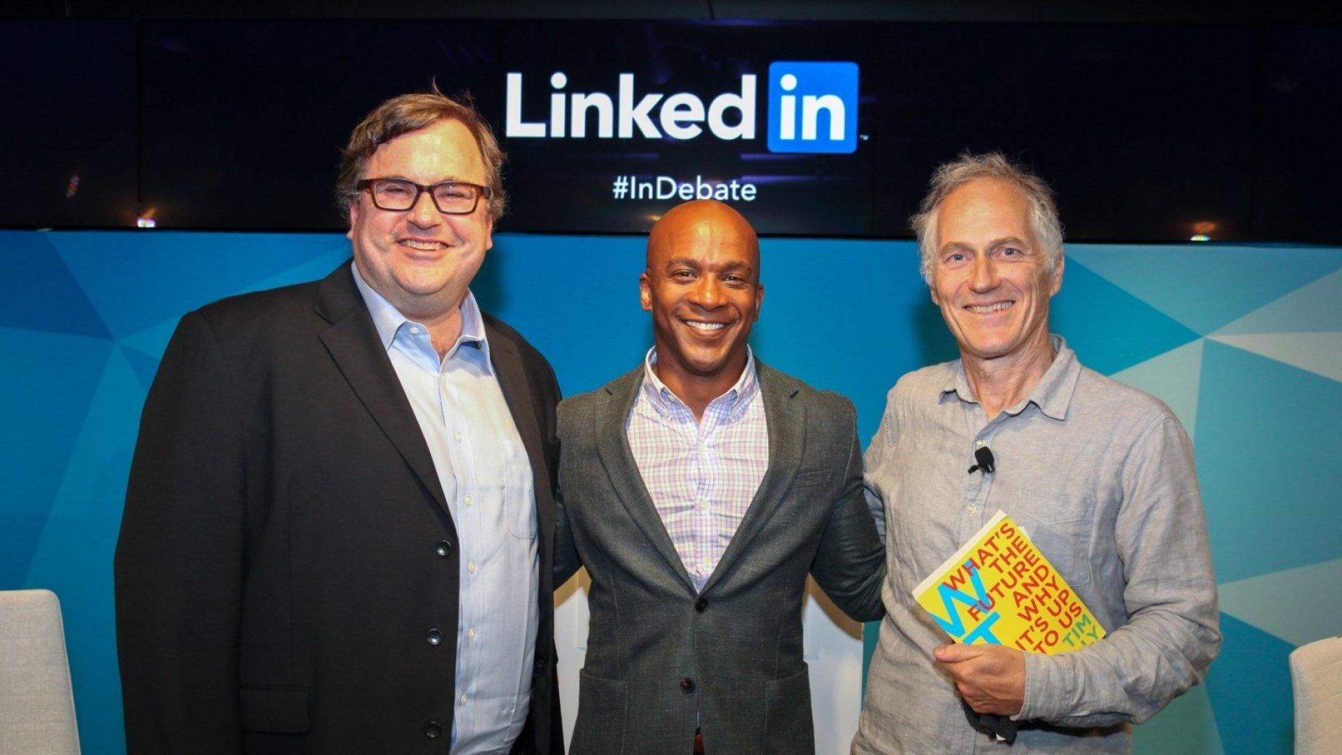 LinkedIn Founder Reid Hoffman: Size Matters