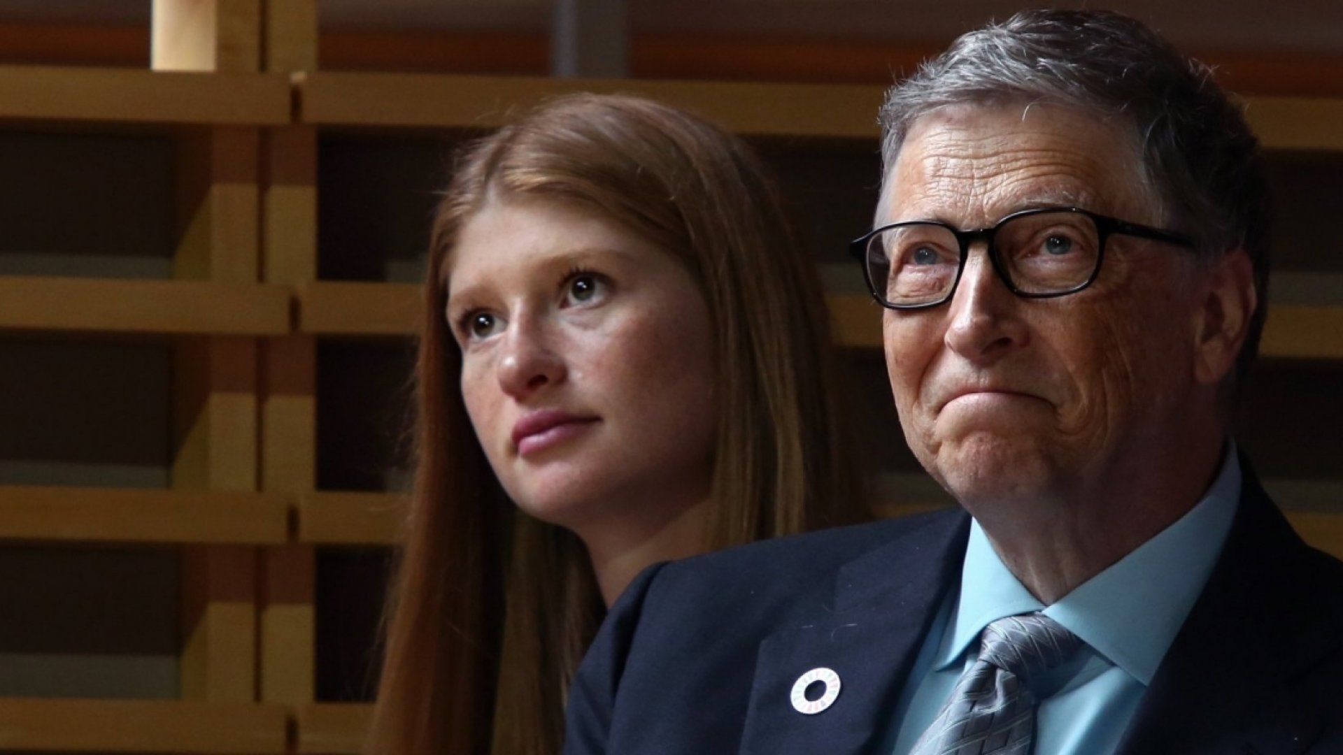 Jennifer and Bill Gates.
