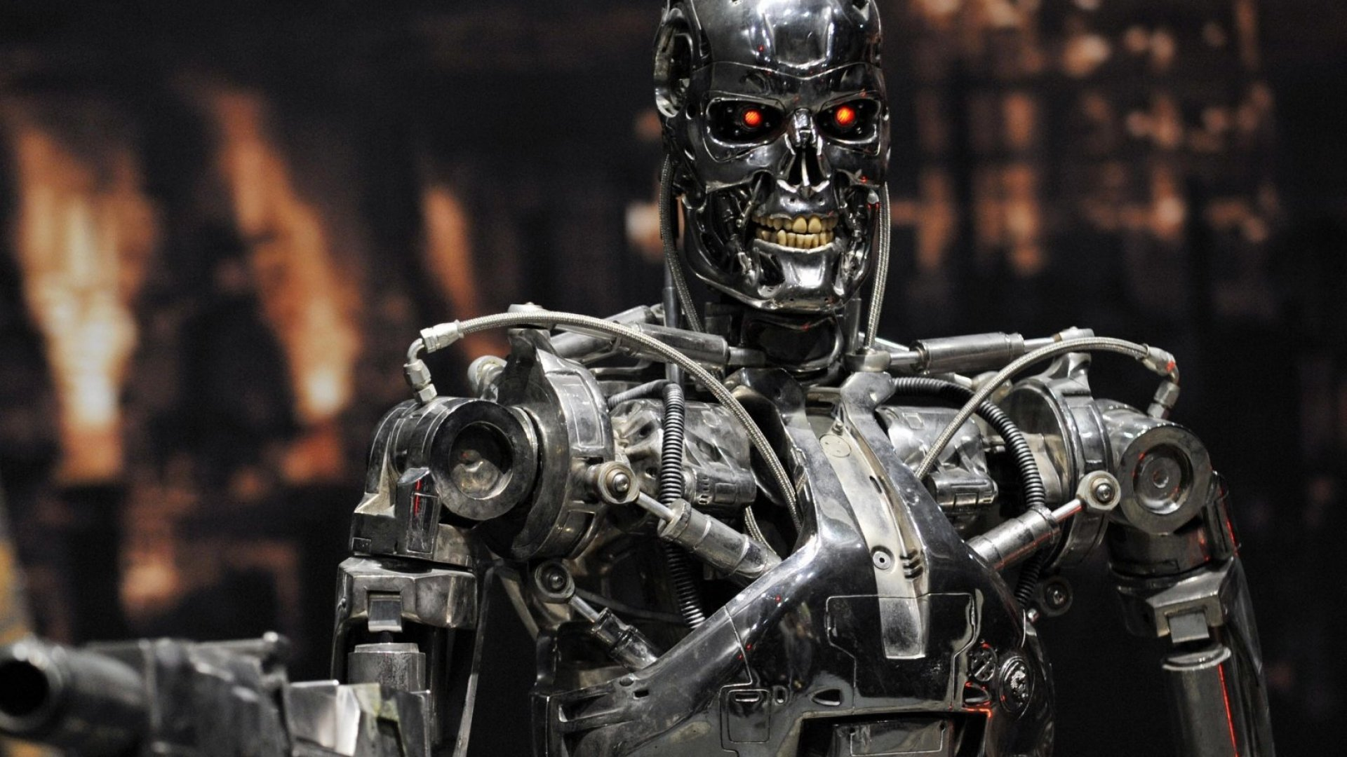 Elon Musk's new nonprofit is out to make sure that the robots from the Terminator movie franchise will not exterminate the human race.