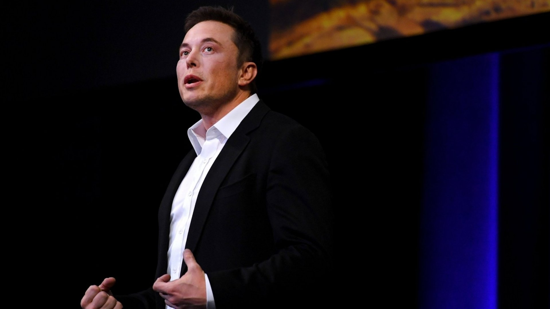 SpaceX CEO Elon Musk speaks at the International Astronautical Congress on September 29, 2017 in Adelaide, Australia. Musk detailed the long-term technical challenges that need to be solved in order to support the creation of a permanent, self-sustaining human presence on Mars.