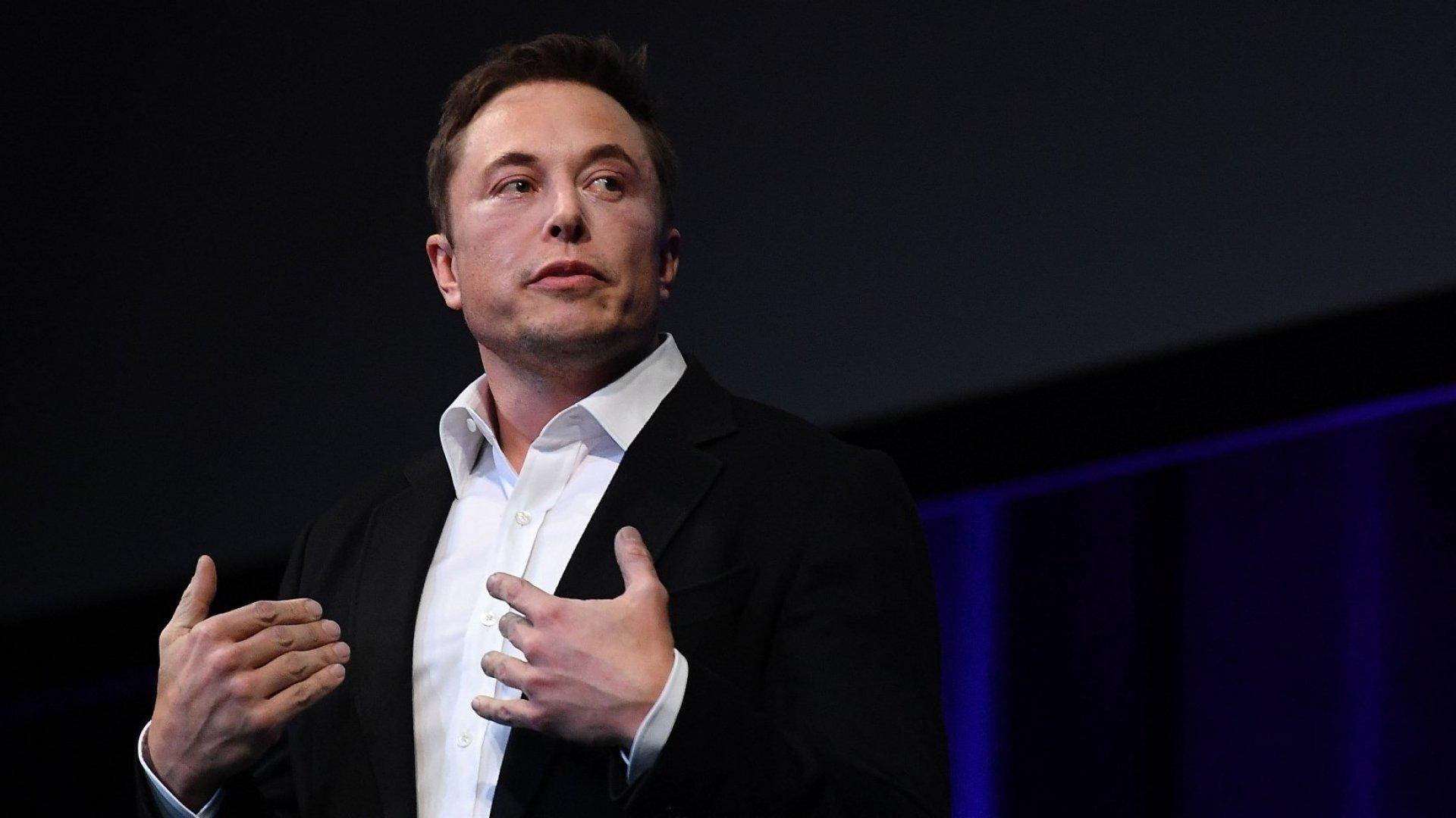 Tech entrepreneur Elon Musk