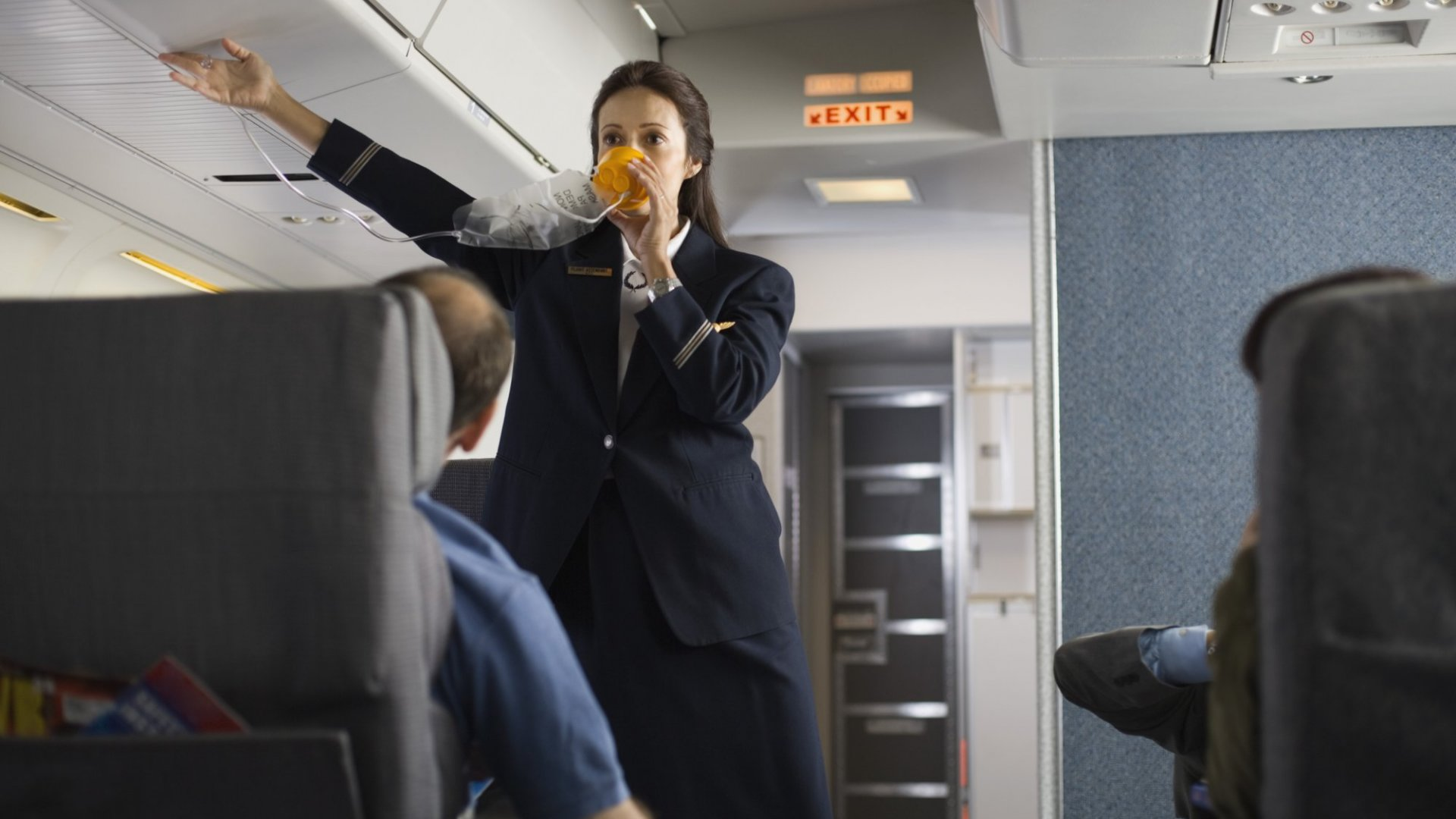 Attitude is everything, especially at 35,000 feet.