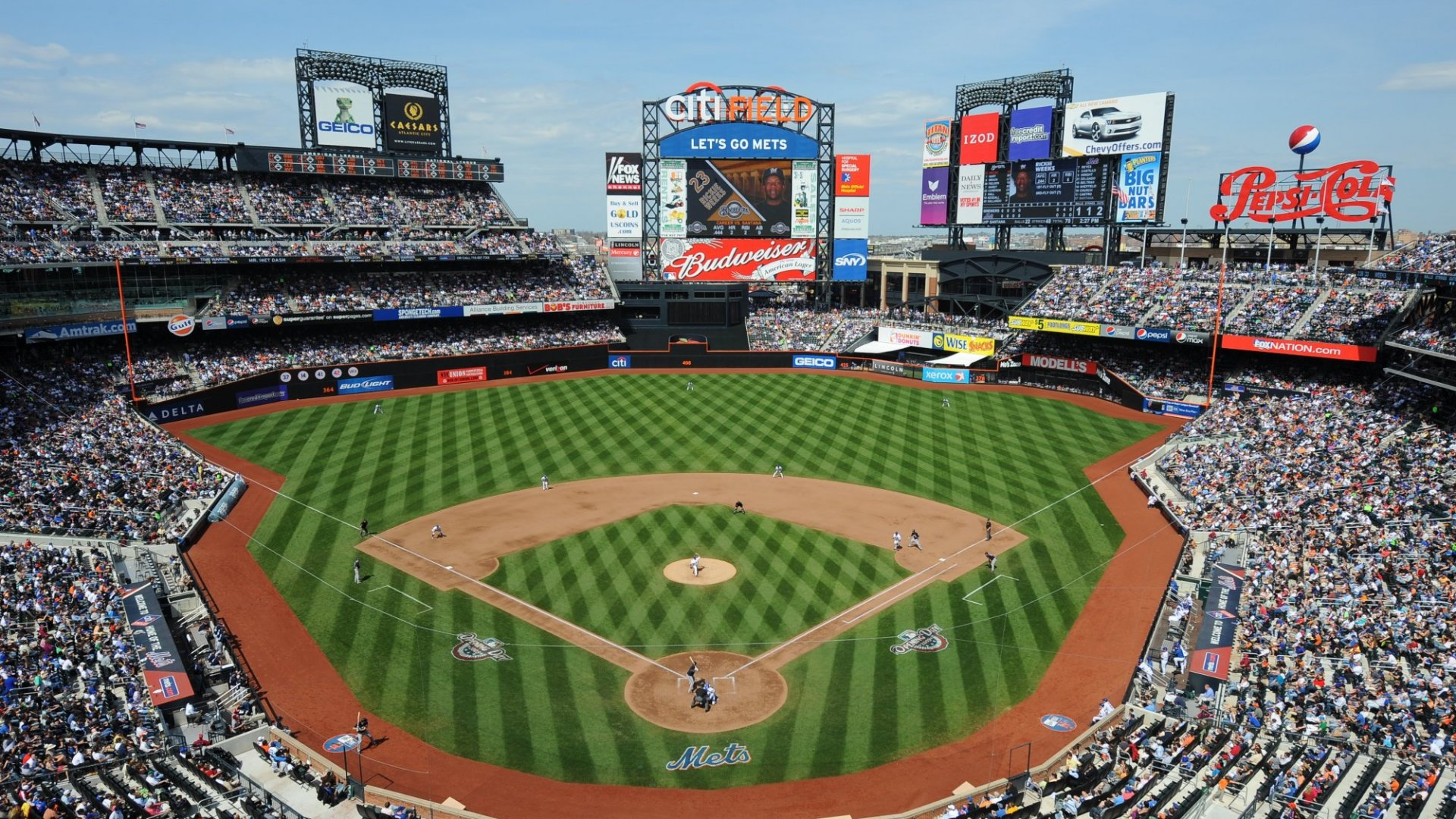Citi Field, home of the New York Mets, in Flushing, Queens.