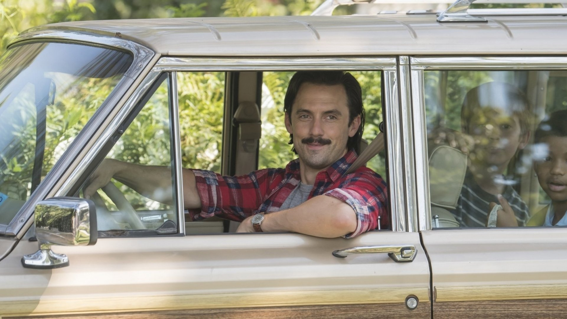"Milo Ventimiglia as Jack in NBC's ""This Is Us."""