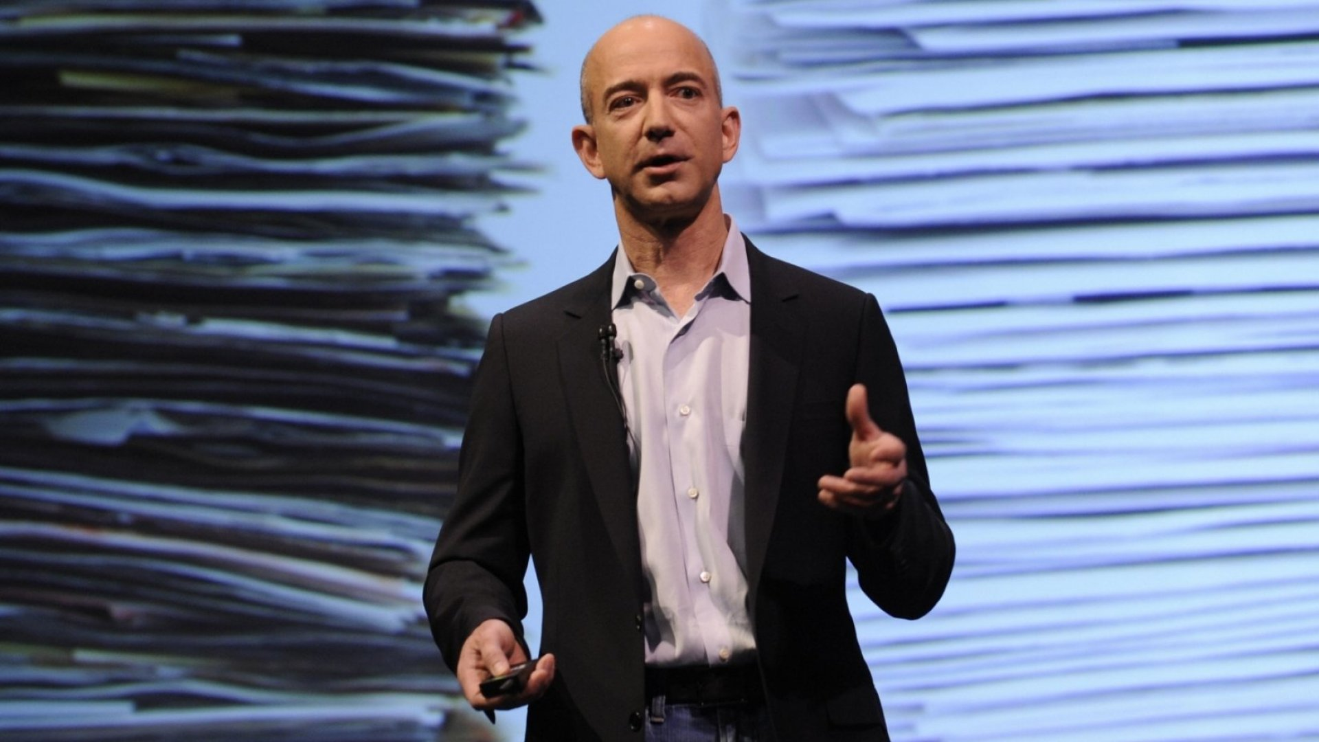 Amazon CEO Jeff Bezos.