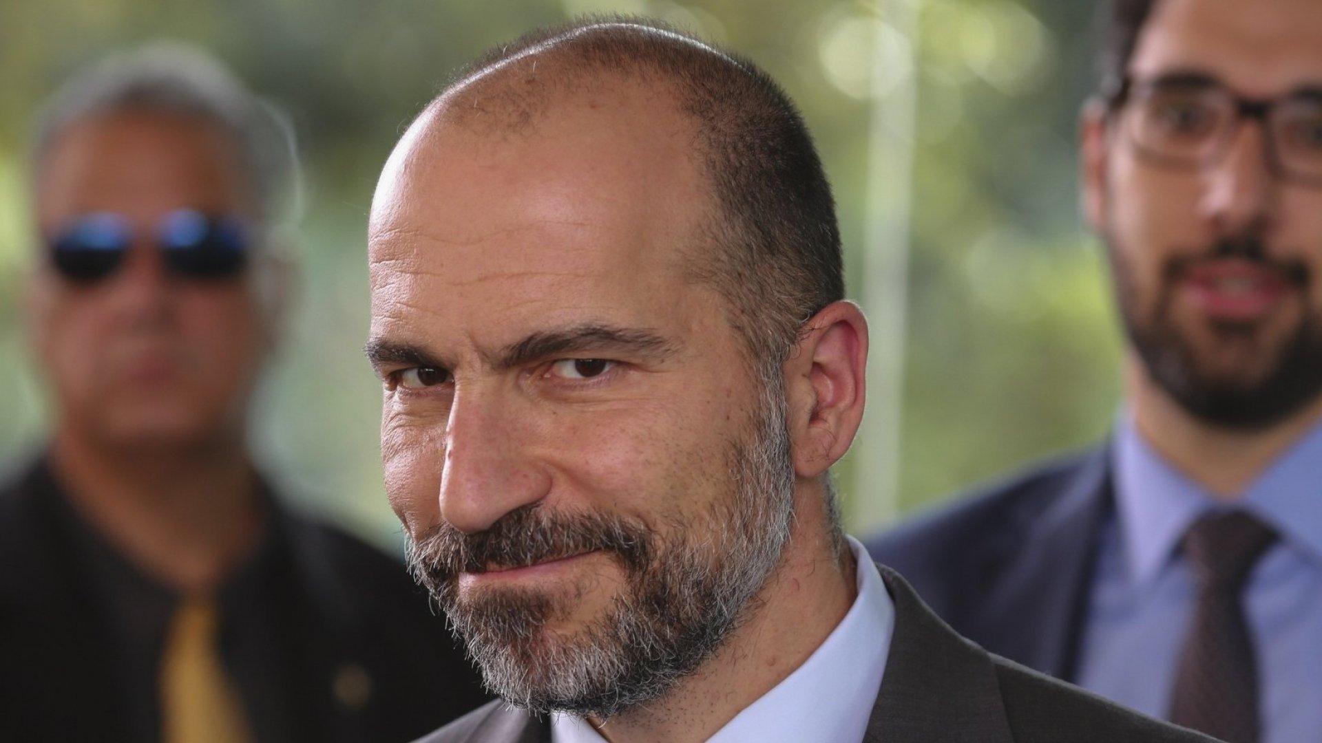 Dara Khosrowshahi.