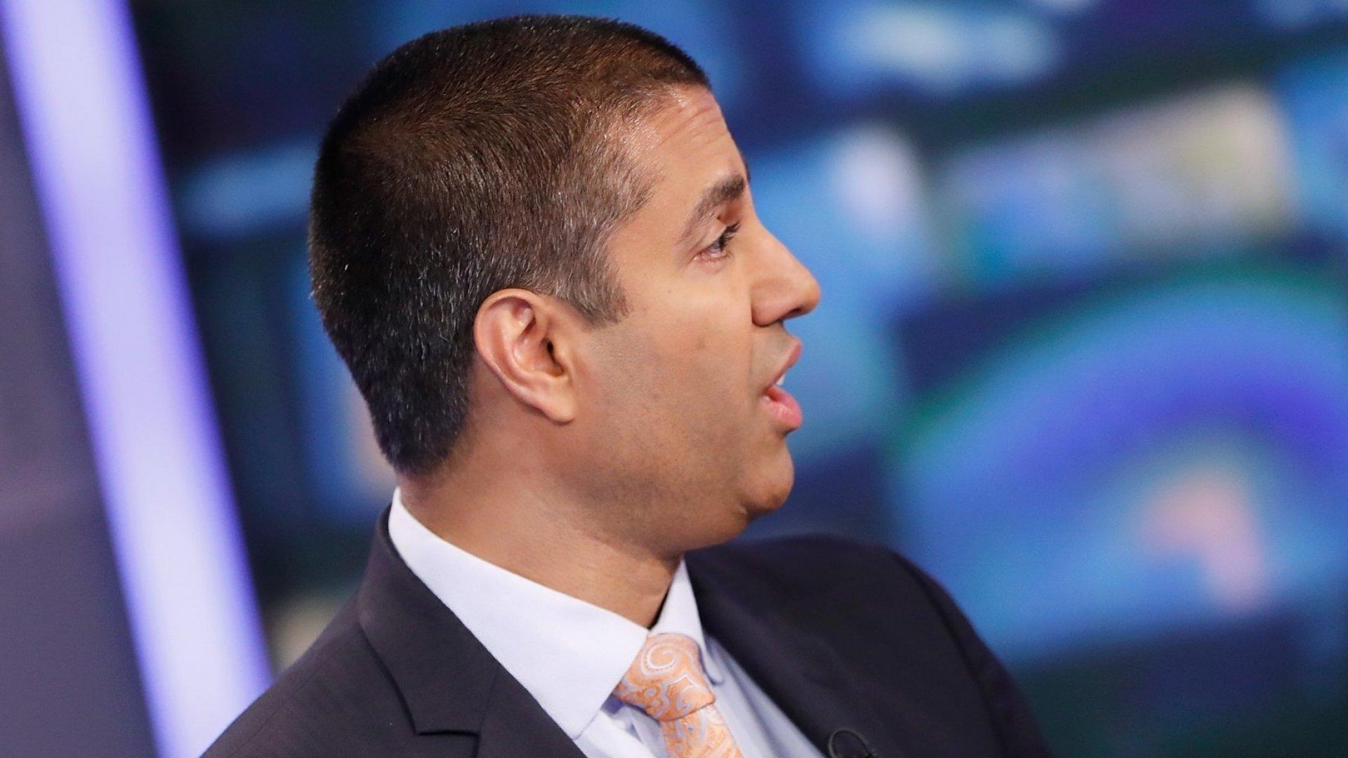 Chairman of the United States Federal Communications Commission, Ajit Varadaraj Pai.