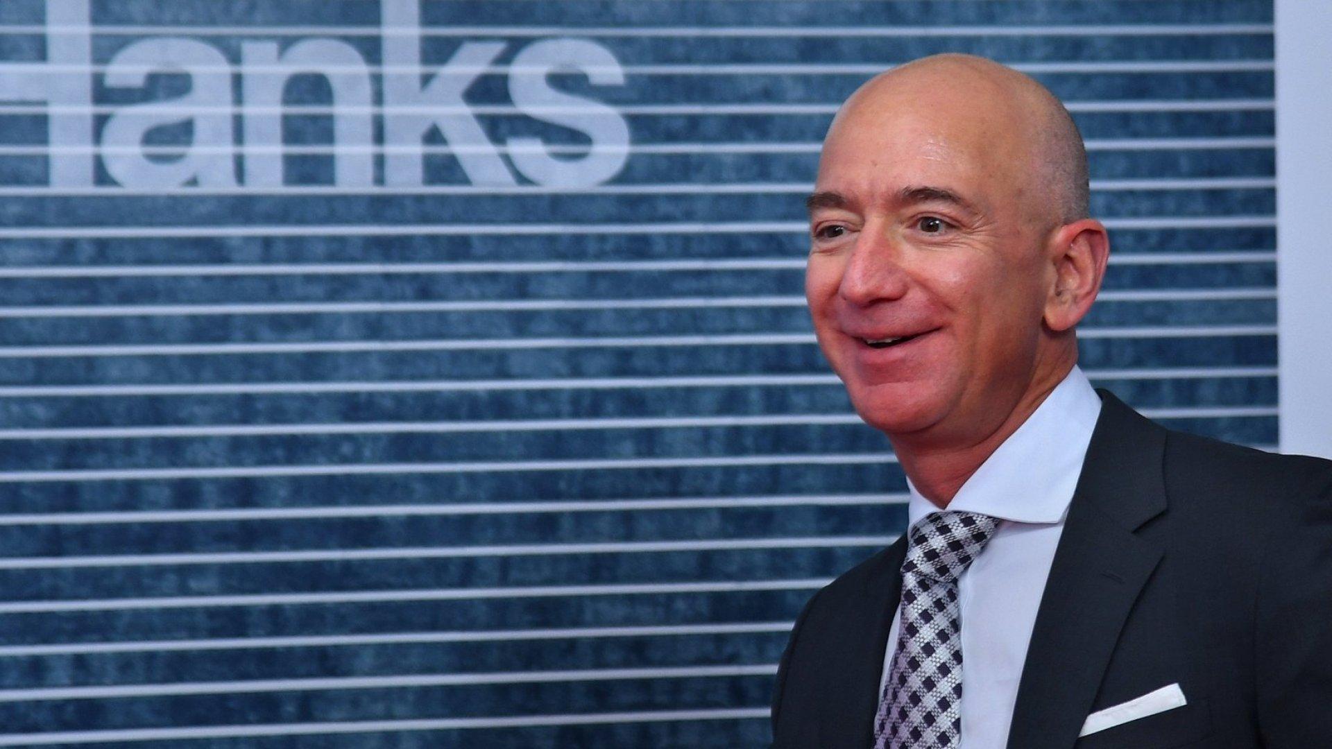 Amazon Founder Jeff Bezos Is Worth Over $112 Billion