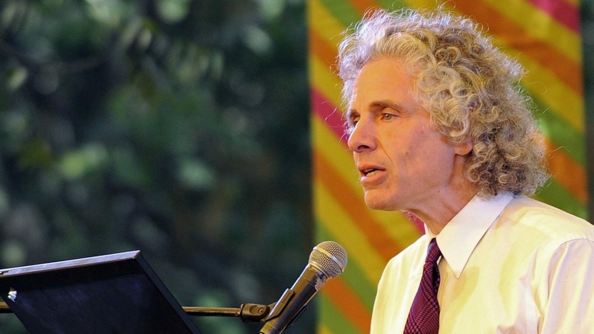 Steven Pinker,Enlightenment Now, and Leadership