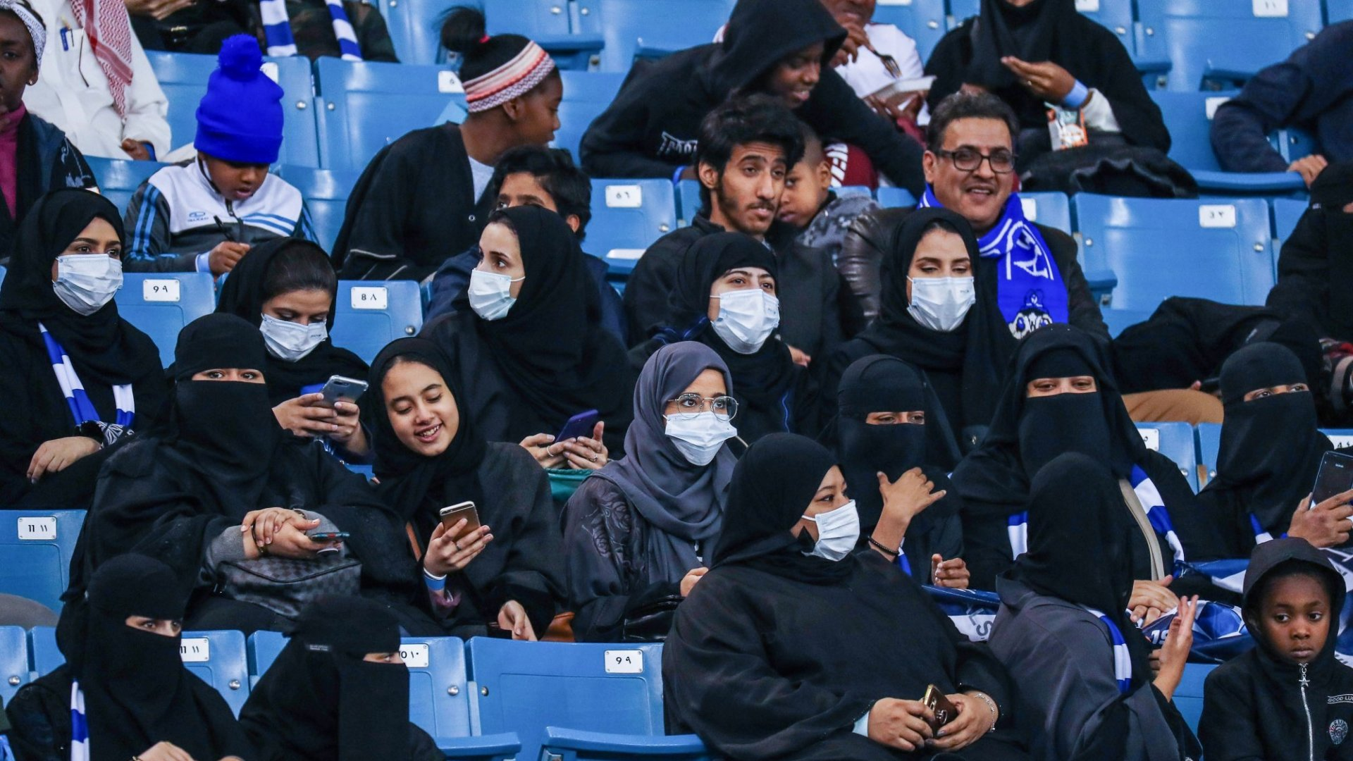 Progress For Women in Saudi Arabia Allows Them To Enter A Football Stadium For The First Time. (And They're Calling It a Milestone).
