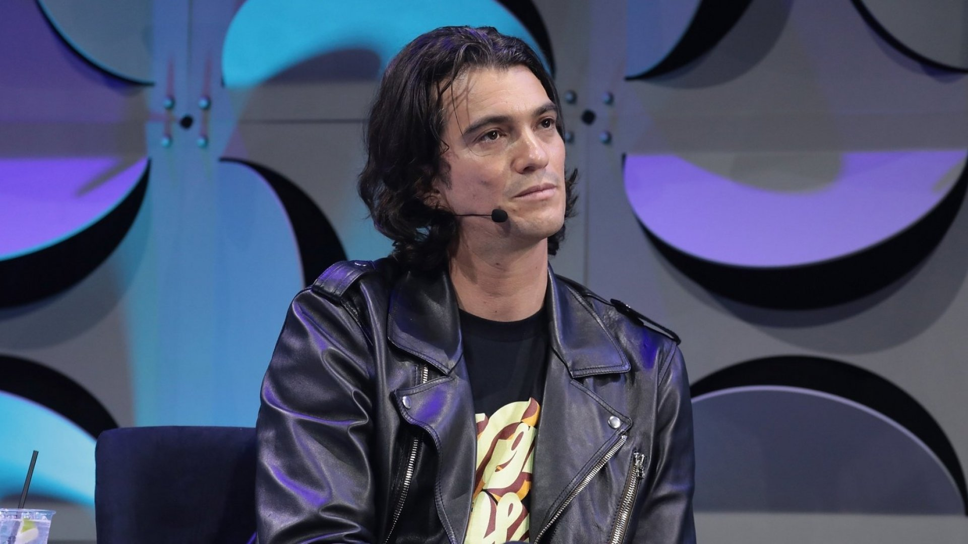 Judge, Co-founder and CEO of WeWork, Adam Neumann appears on stage as WeWork presents Creator Awards Global Finals at the Theater At Madison Square Garden on January 17, 2018 in New York City. (Photo by Cindy Ord/Getty Images for WeWork)